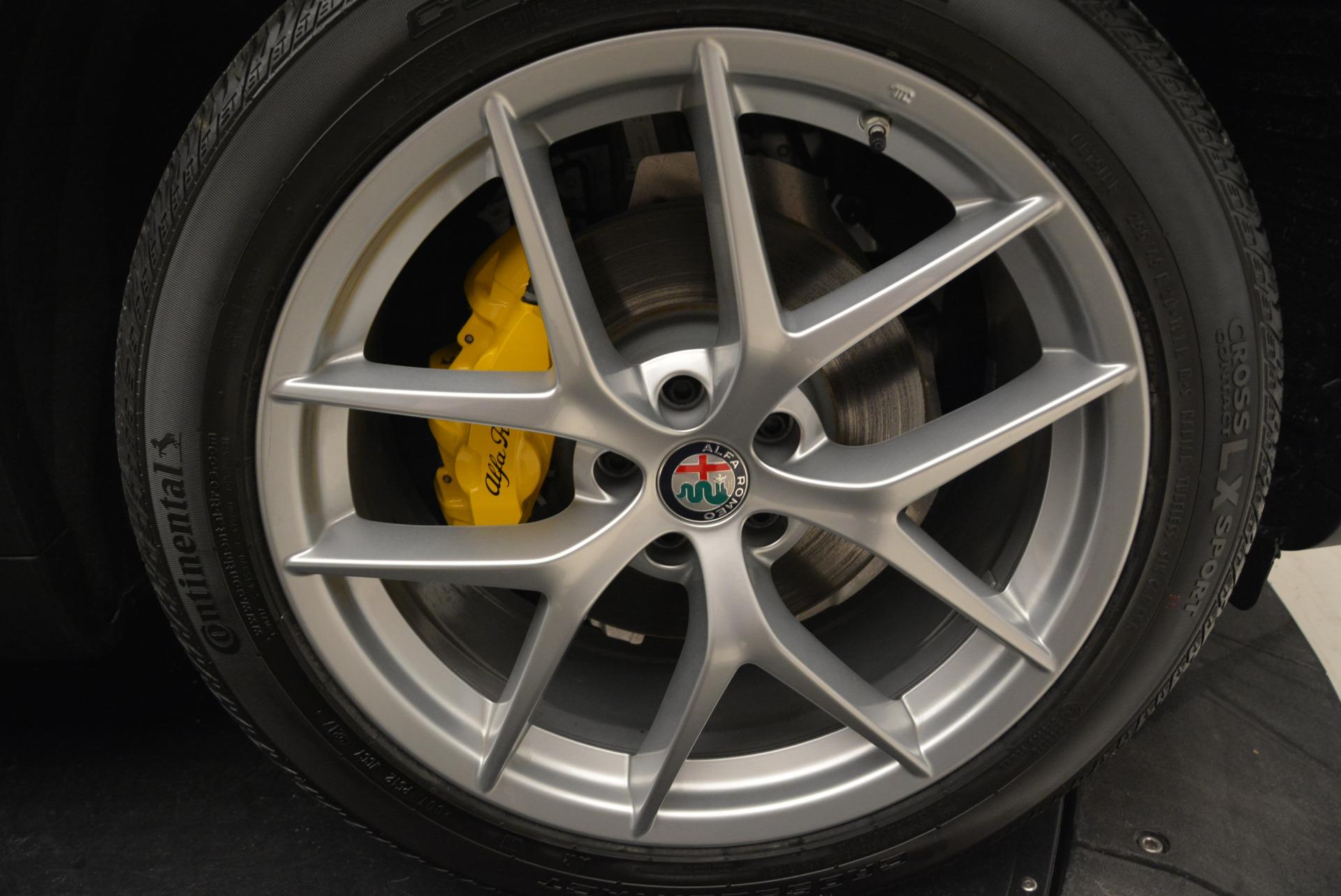 New 2018 Alfa Romeo Stelvio Ti Sport Q4 For Sale In Westport, CT 2058_p25