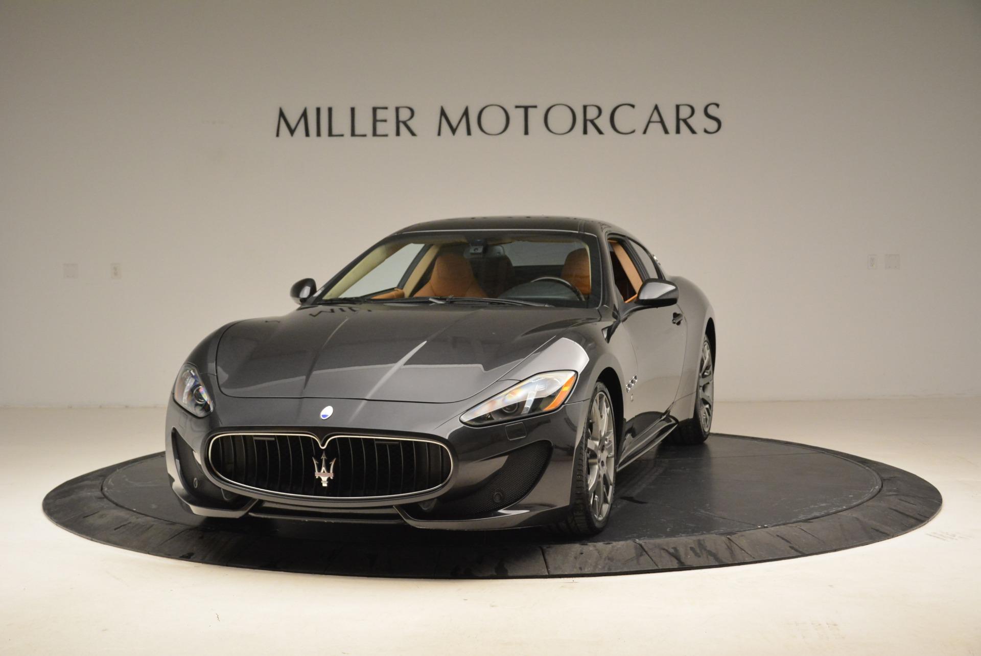 Used 2014 Maserati GranTurismo Sport For Sale In Westport, CT 2067_p12