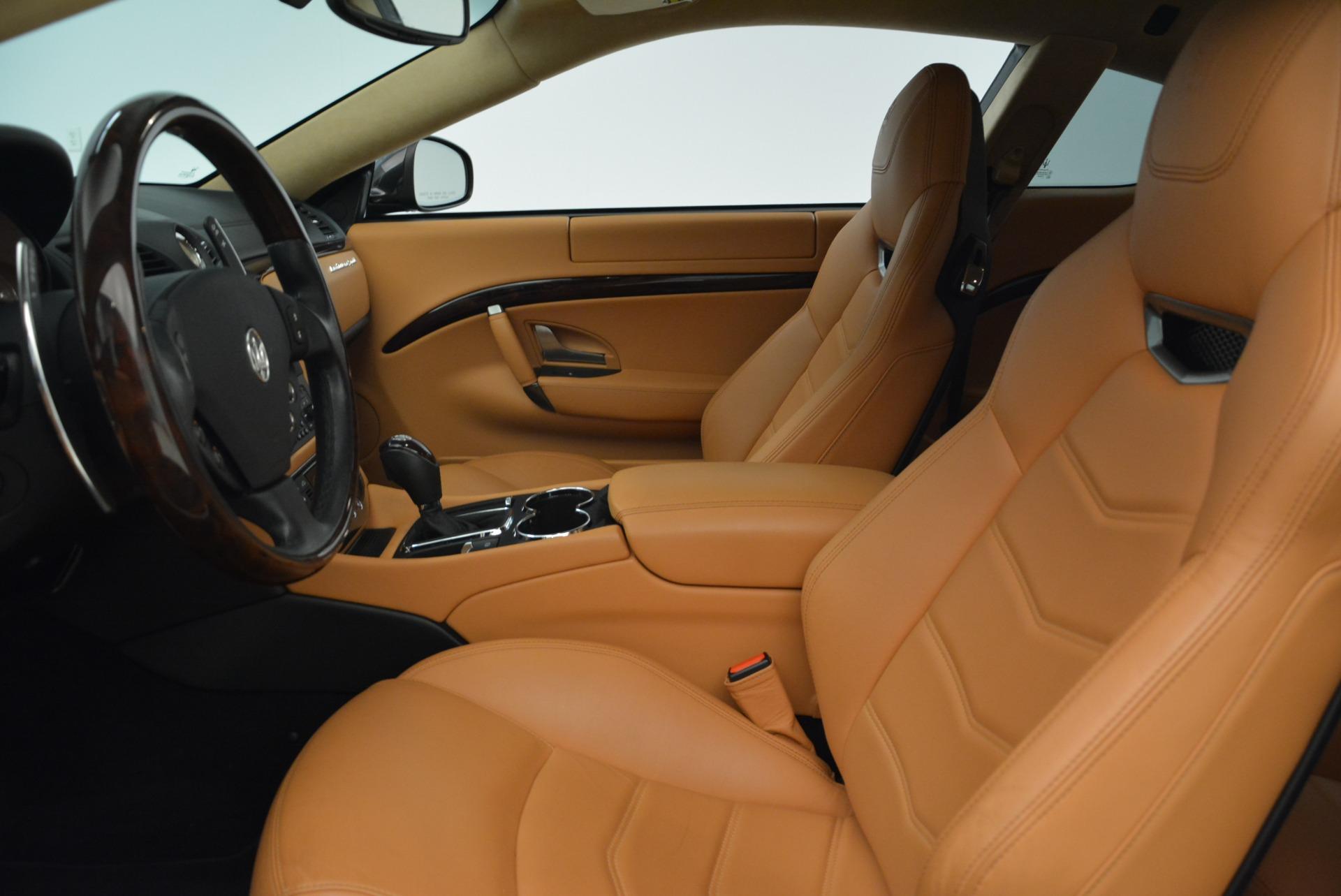 Used 2014 Maserati GranTurismo Sport For Sale In Westport, CT 2067_p14