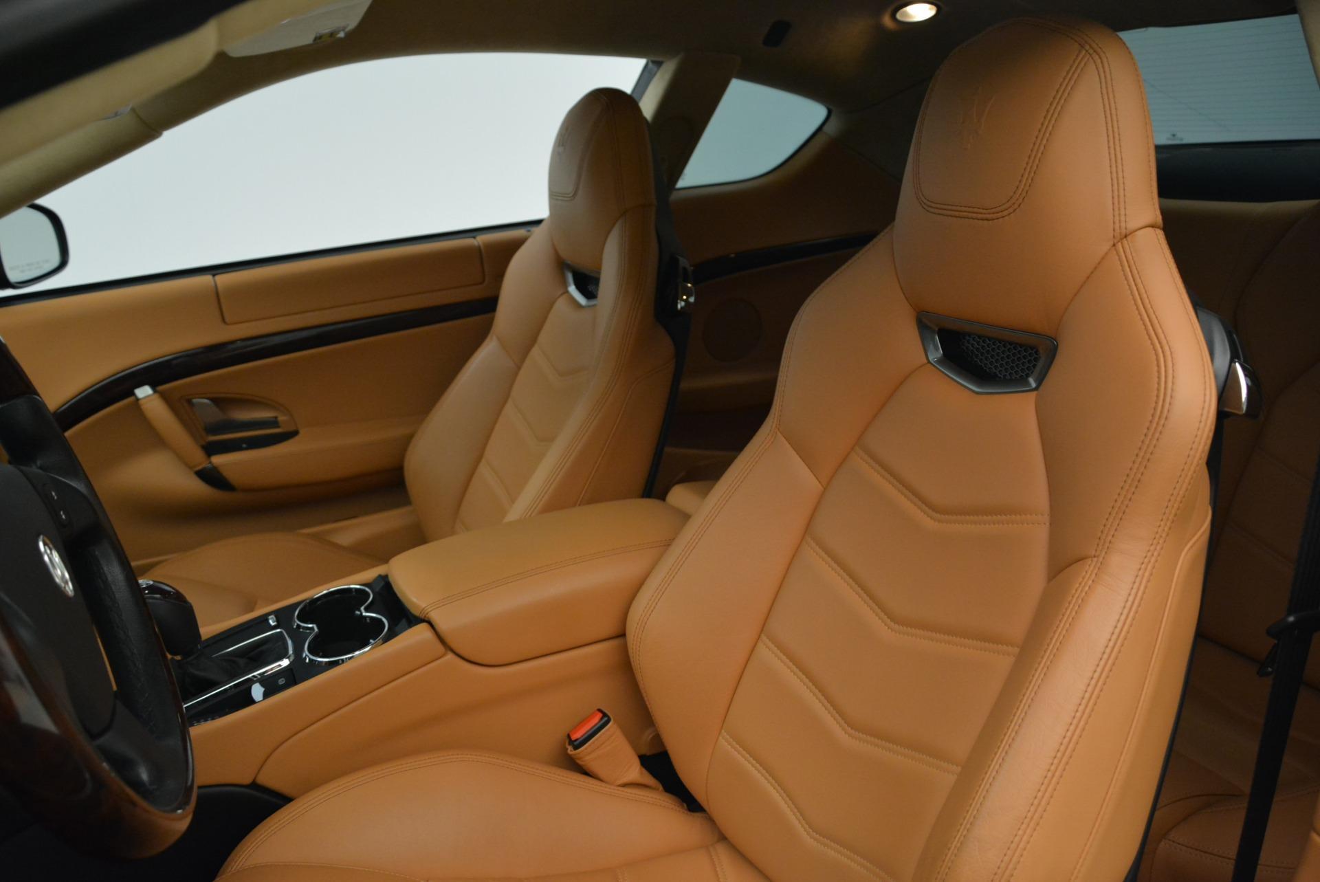 Used 2014 Maserati GranTurismo Sport For Sale In Westport, CT 2067_p15