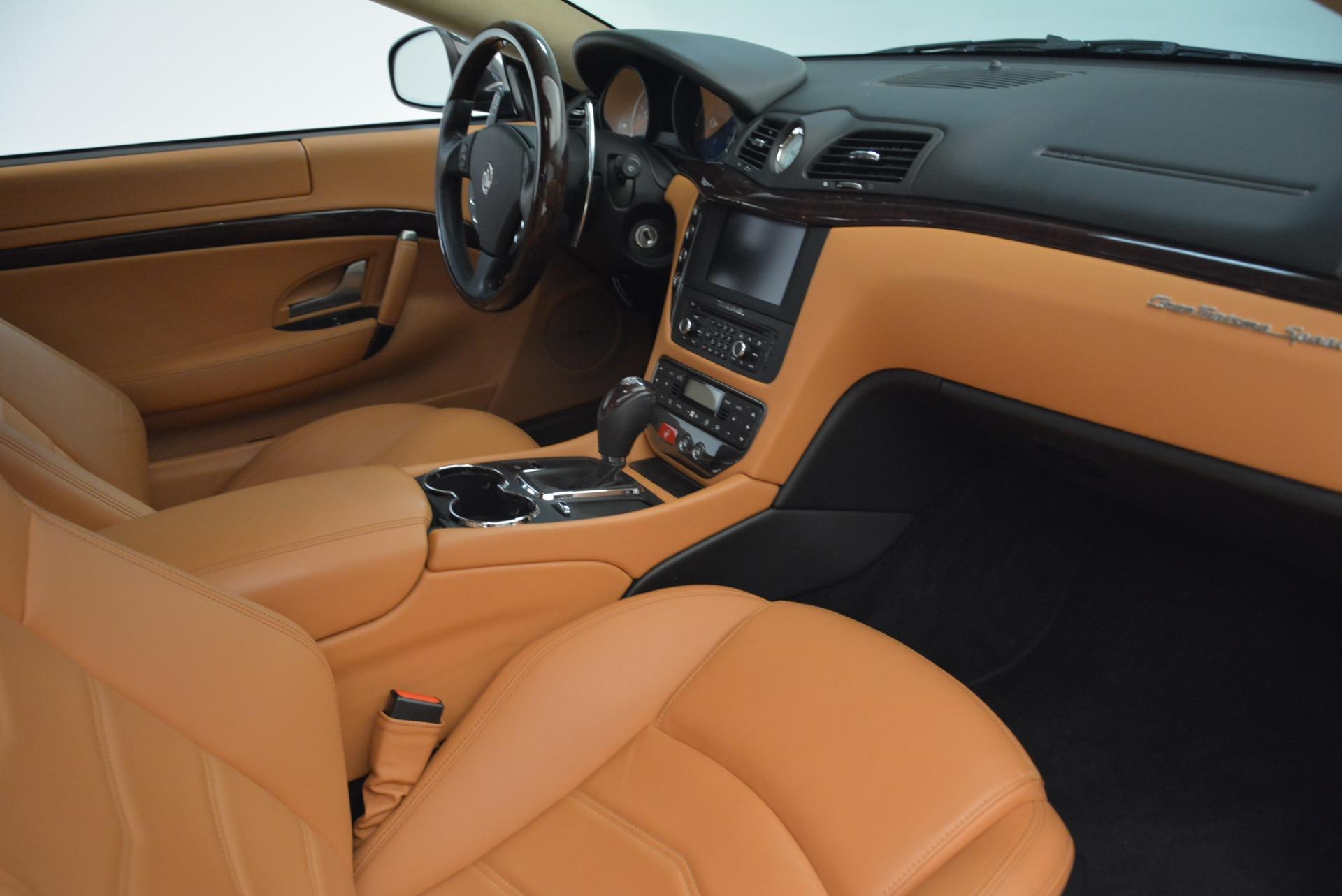 Used 2014 Maserati GranTurismo Sport For Sale In Westport, CT 2067_p20