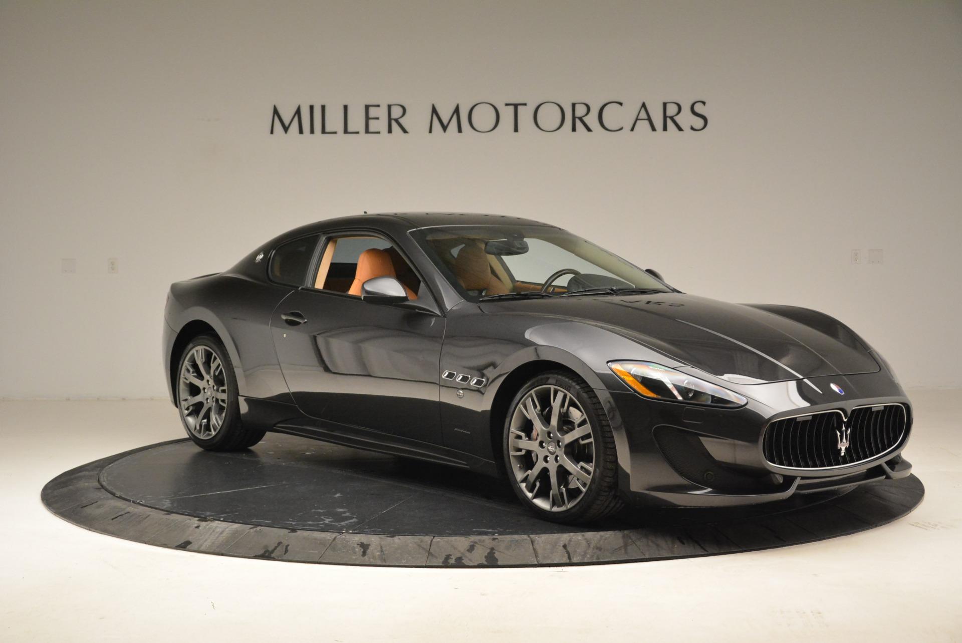 Used 2014 Maserati GranTurismo Sport For Sale In Westport, CT 2067_p9