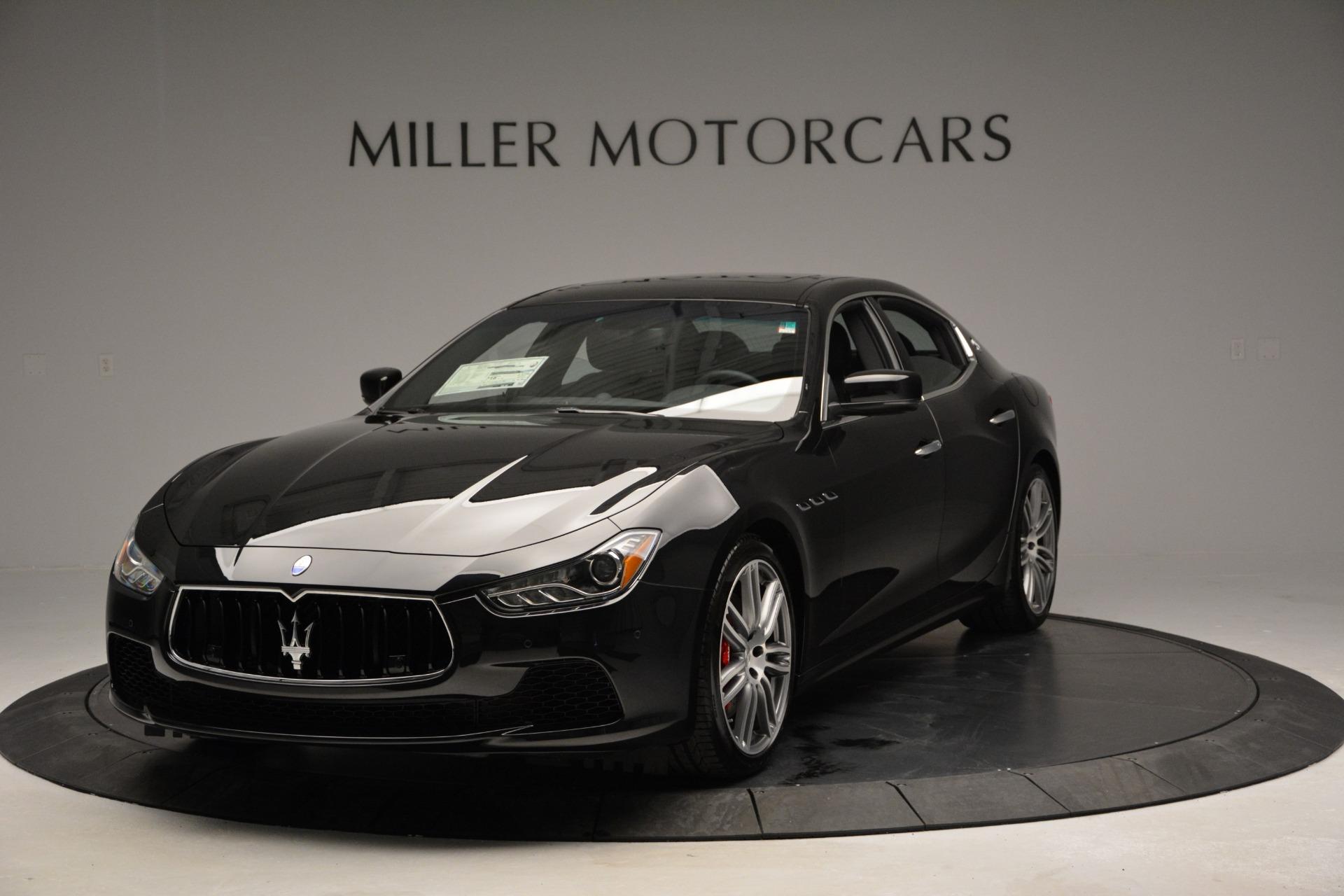 Used 2015 Maserati Ghibli S Q4 For Sale In Westport, CT 2070_main