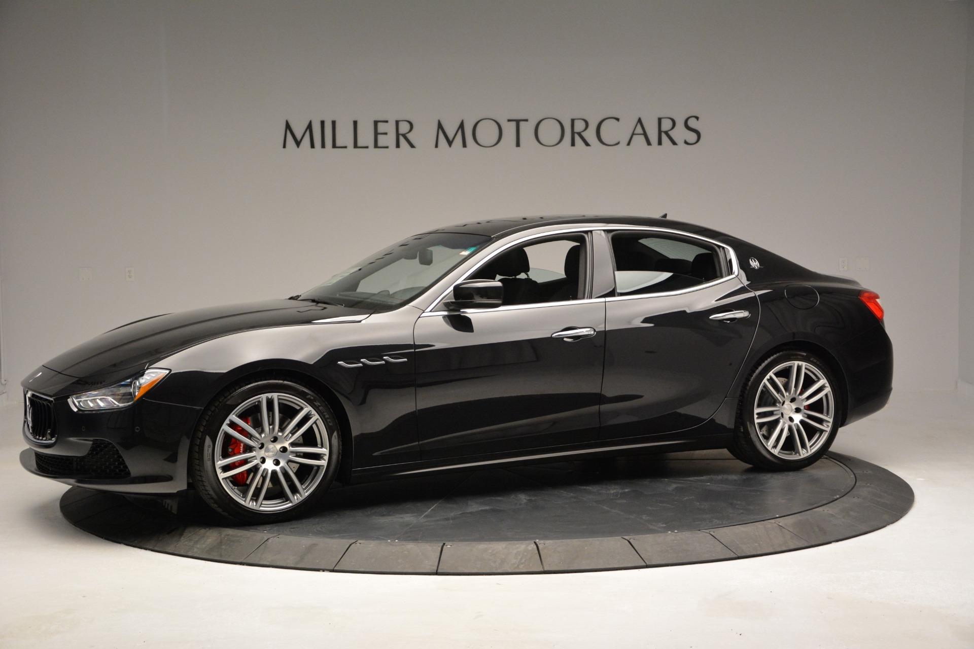 Used 2015 Maserati Ghibli S Q4 For Sale In Westport, CT 2070_p2
