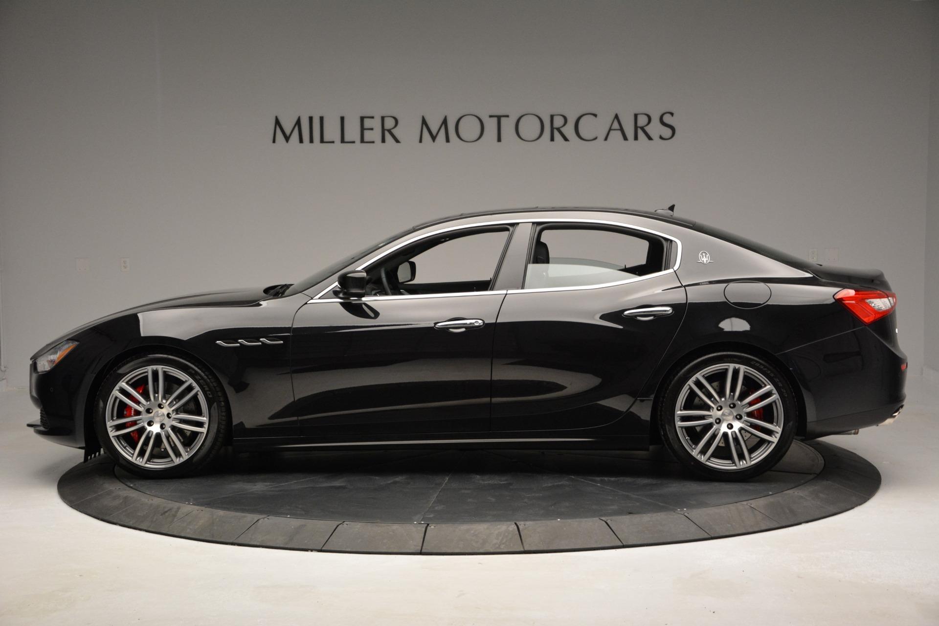 Used 2015 Maserati Ghibli S Q4 For Sale In Westport, CT 2070_p3