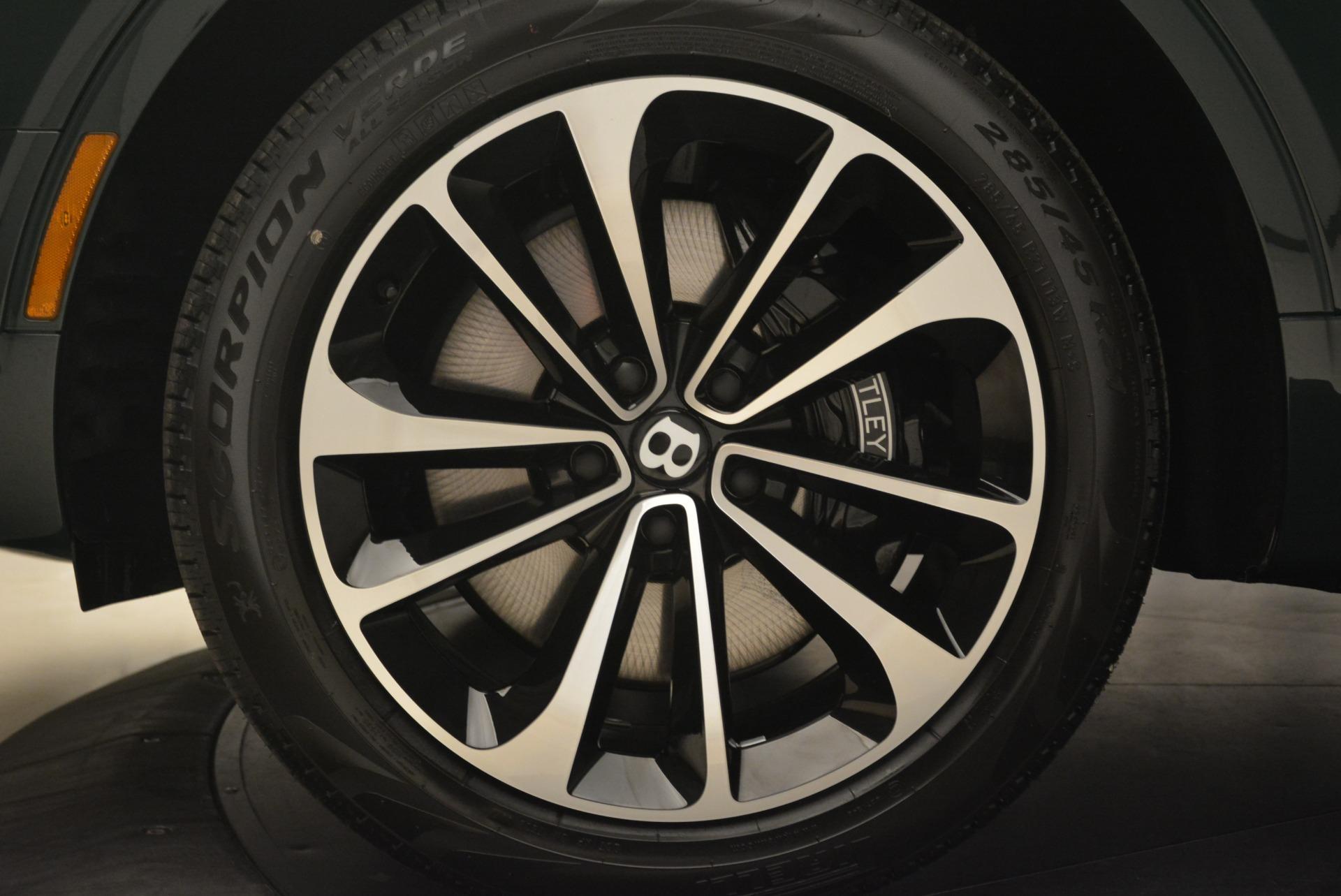 New 2018 Bentley Bentayga Signature For Sale In Westport, CT 2072_p17
