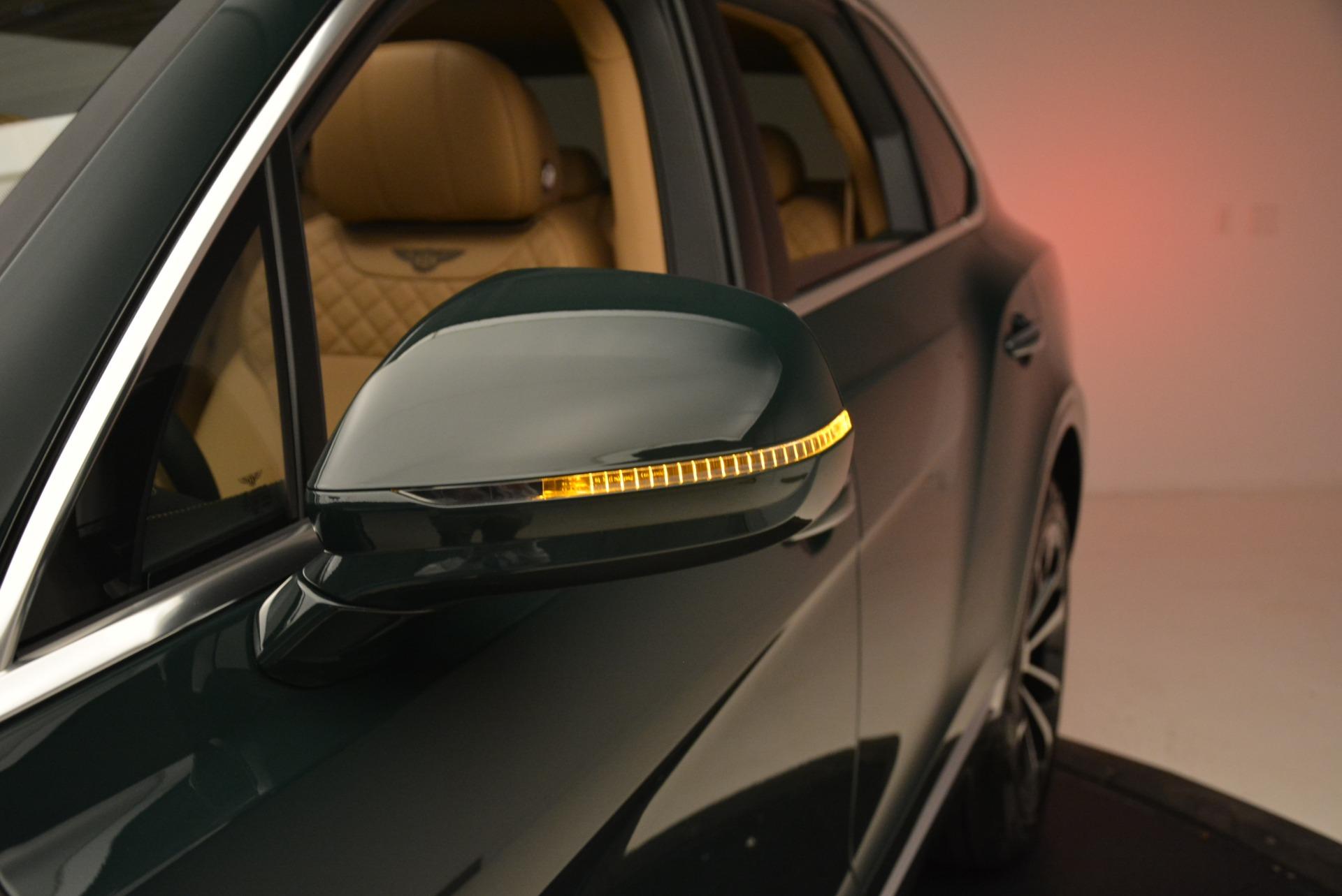 New 2018 Bentley Bentayga Signature For Sale In Westport, CT 2072_p21