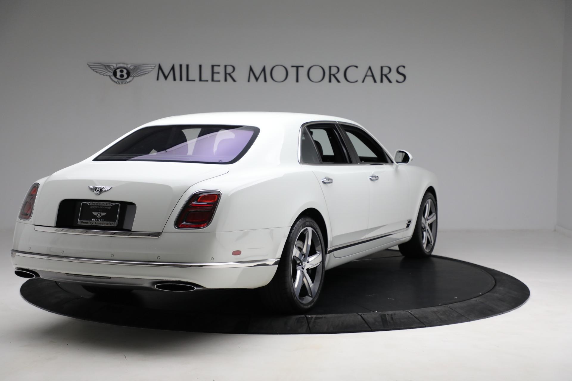 Used 2018 Bentley Mulsanne Speed For Sale In Westport, CT 2075_p6