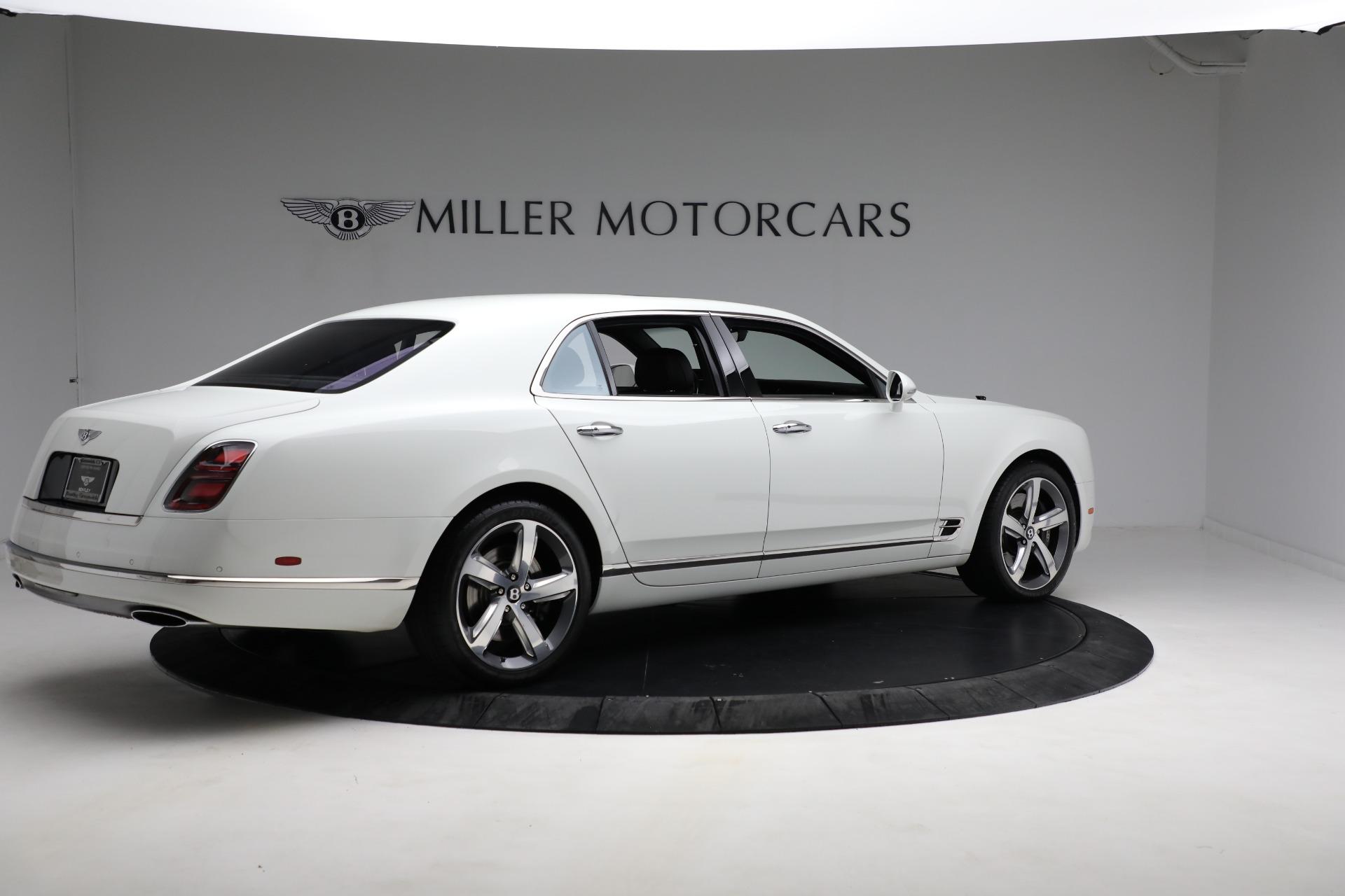 Used 2018 Bentley Mulsanne Speed For Sale In Westport, CT 2075_p7