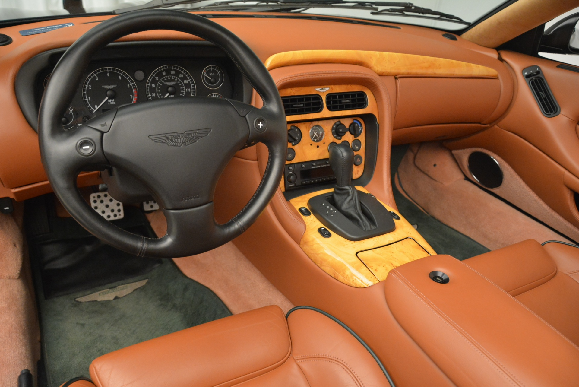 Used 2003 Aston Martin DB7 Vantage Volante For Sale In Westport, CT 2084_p24