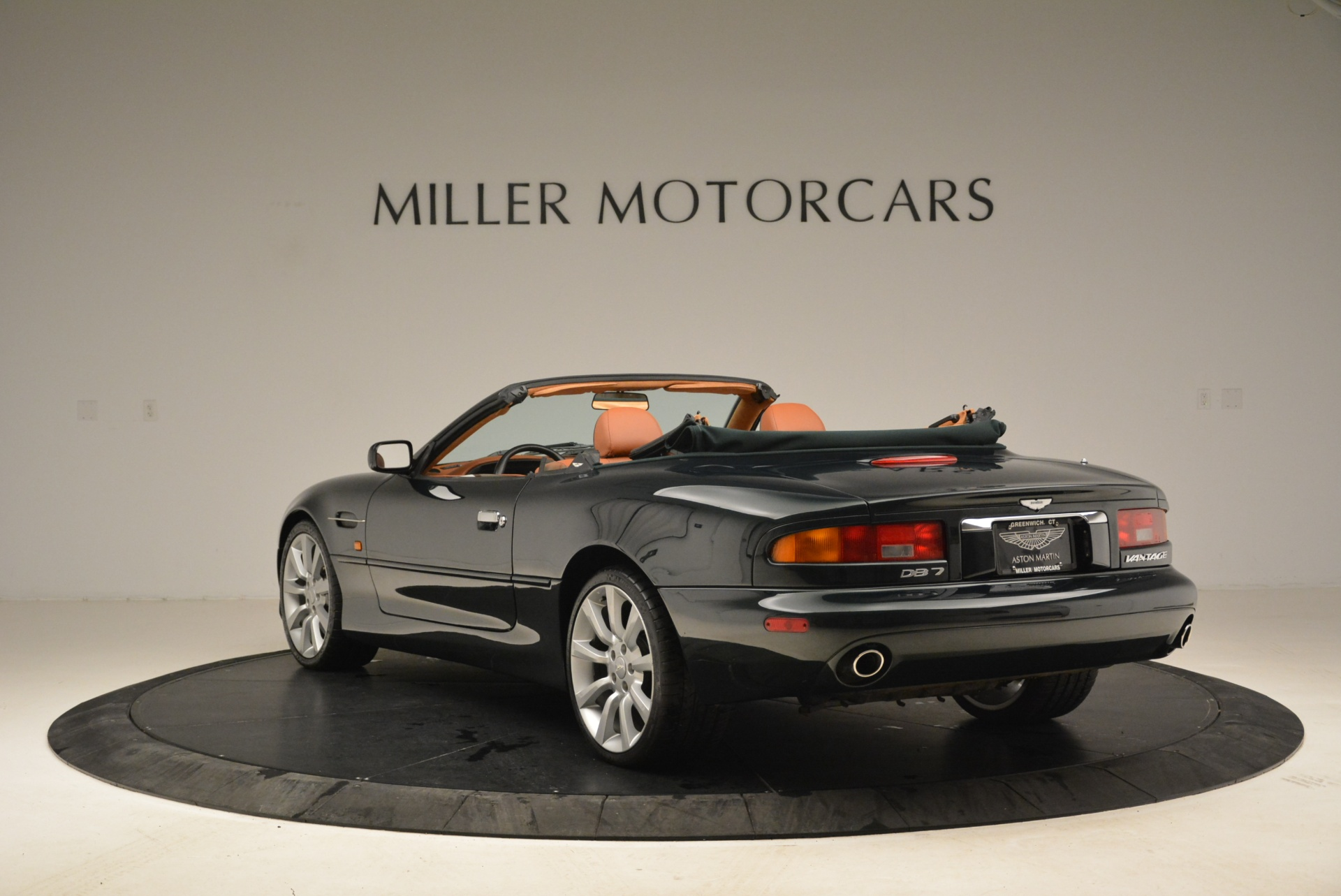 Used 2003 Aston Martin DB7 Vantage Volante For Sale In Westport, CT 2084_p5