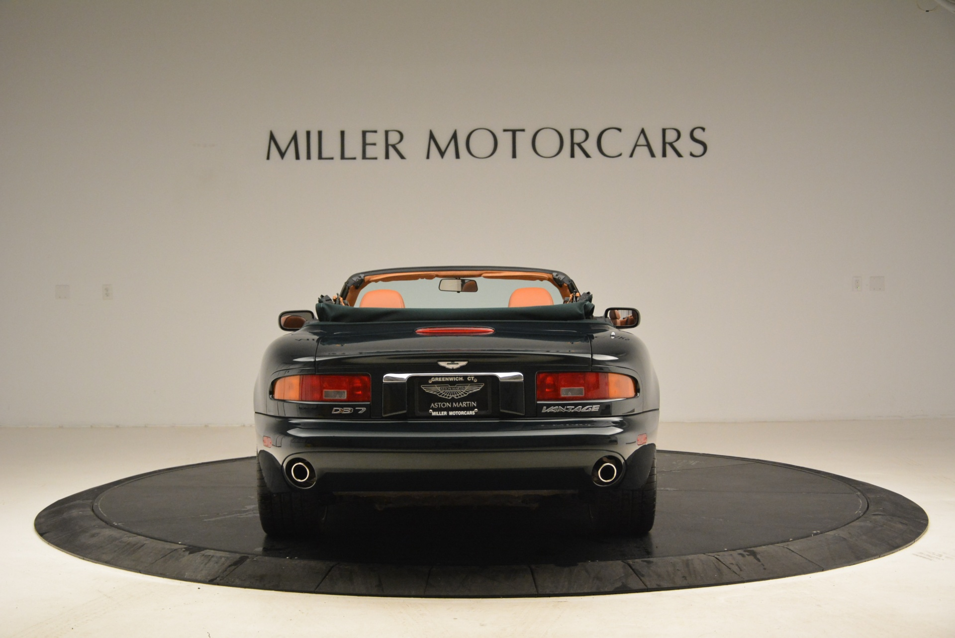 Used 2003 Aston Martin DB7 Vantage Volante For Sale In Westport, CT 2084_p6