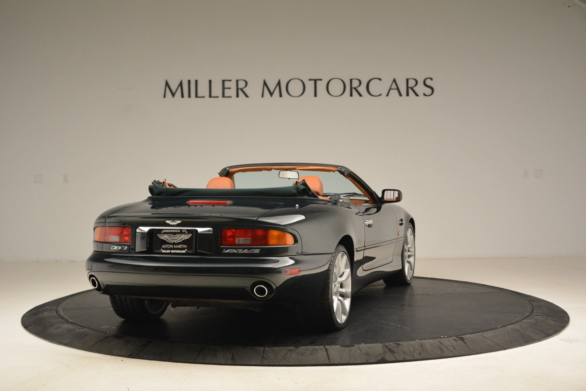 Used 2003 Aston Martin DB7 Vantage Volante For Sale In Westport, CT 2084_p7