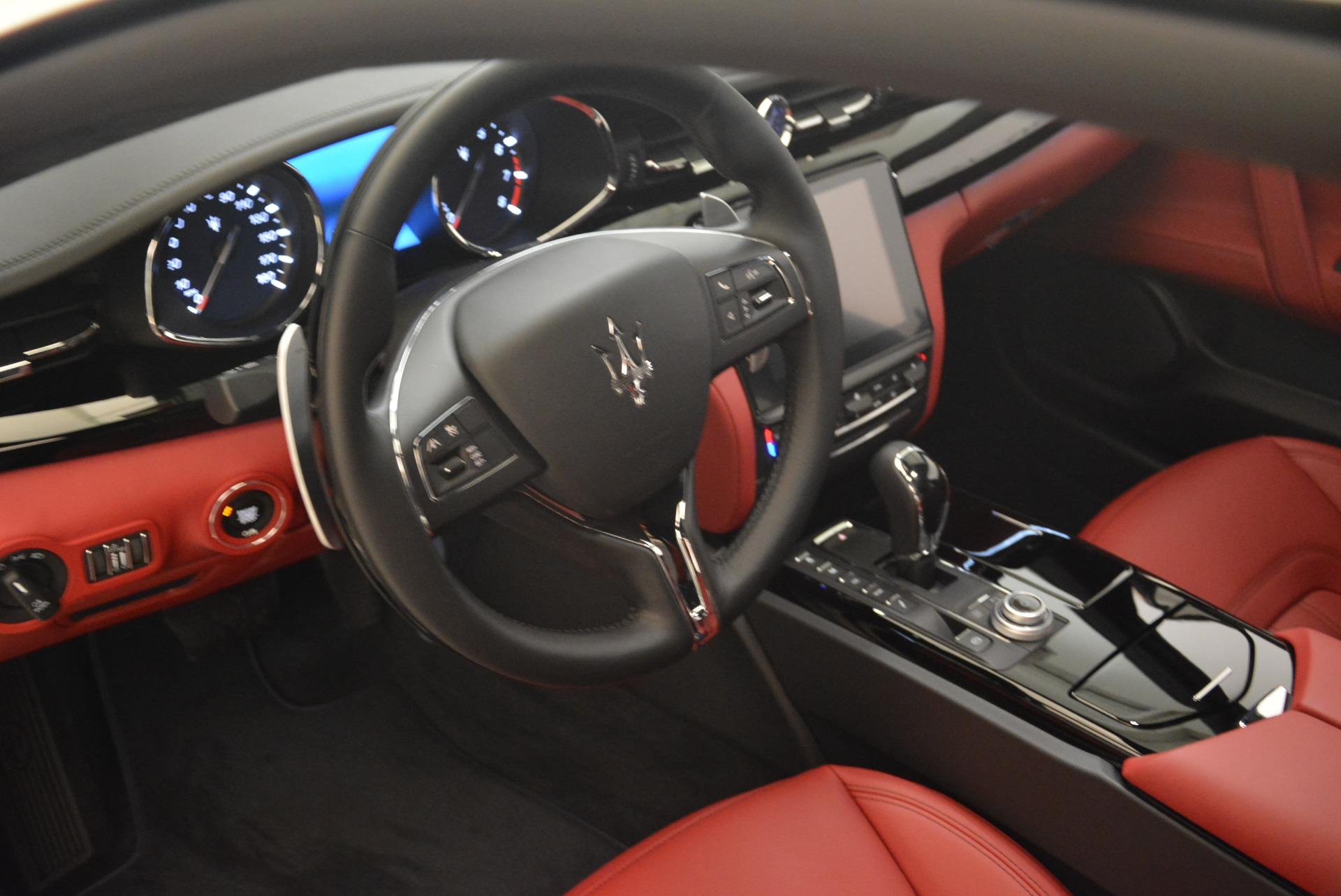 New 2018 Maserati Quattroporte S Q4 GranLusso For Sale In Westport, CT 2085_p18
