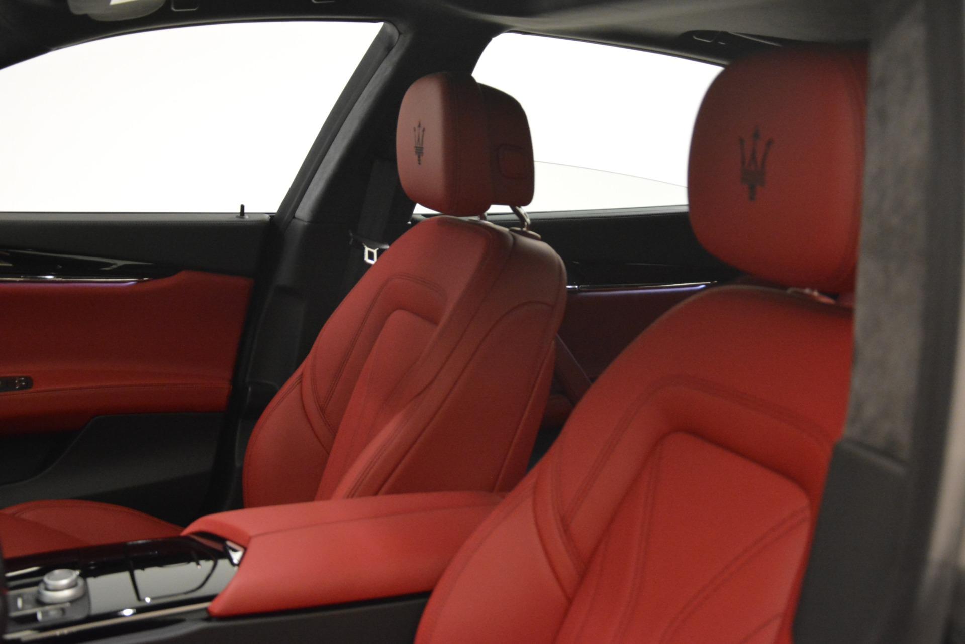 New 2018 Maserati Quattroporte S Q4 GranLusso For Sale In Westport, CT 2085_p21