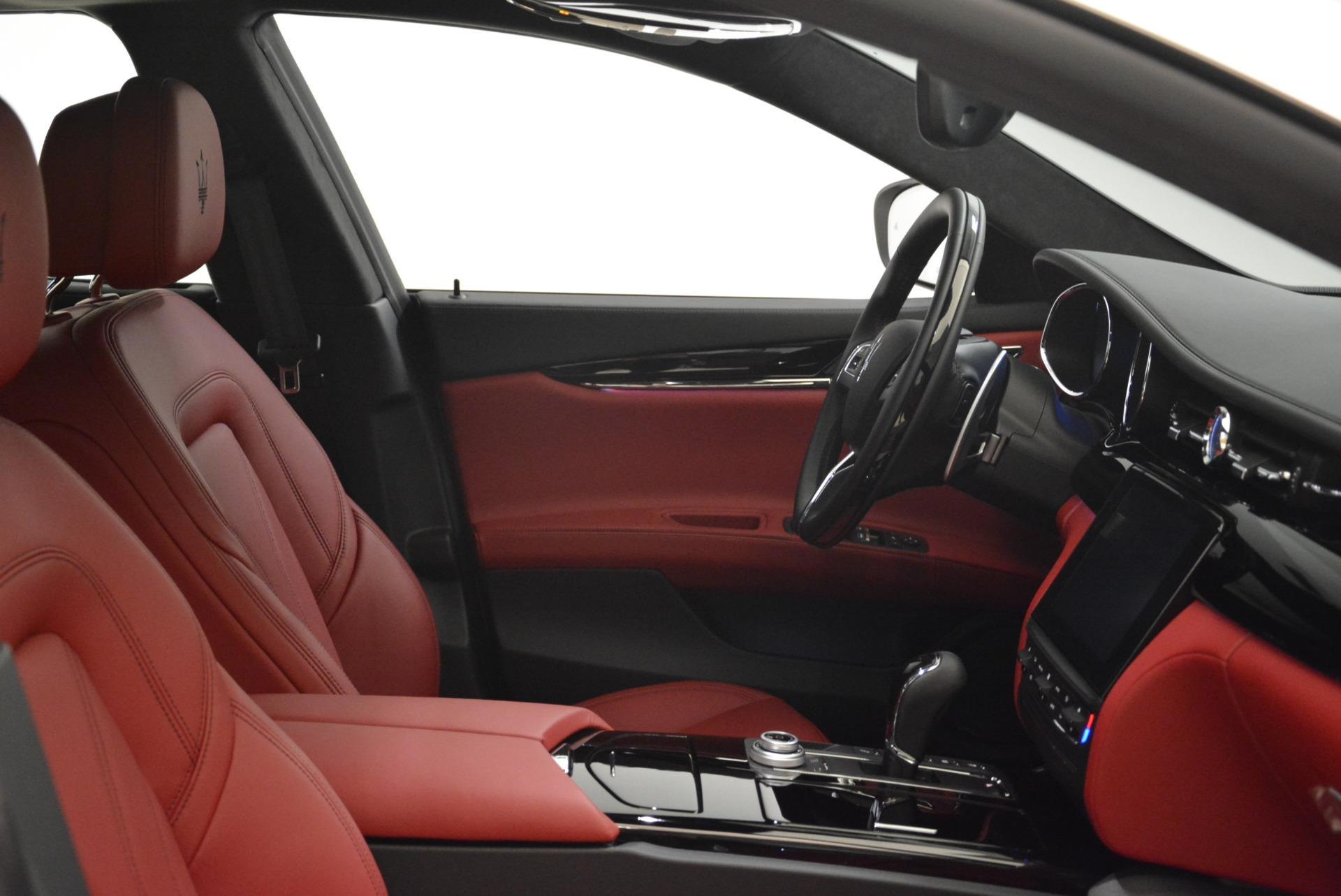 New 2018 Maserati Quattroporte S Q4 GranLusso For Sale In Westport, CT 2085_p25