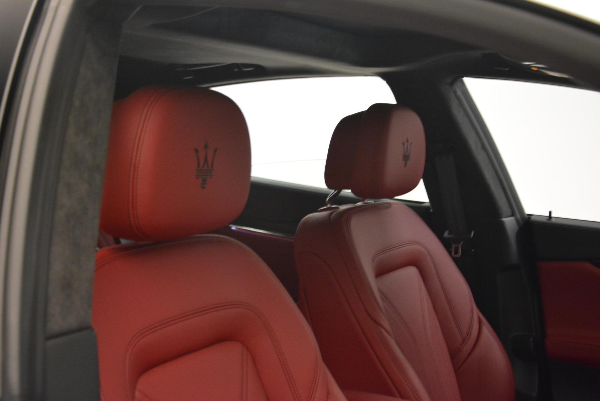 New 2018 Maserati Quattroporte S Q4 GranLusso For Sale In Westport, CT 2085_p26