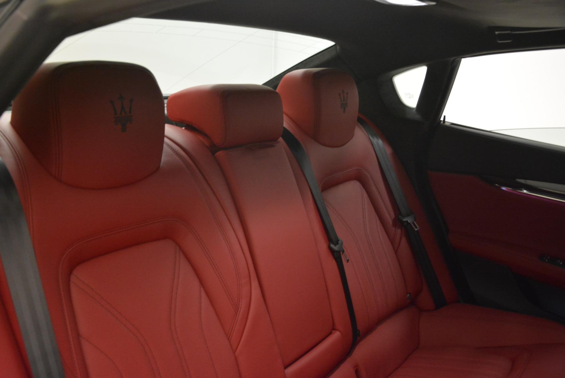 New 2018 Maserati Quattroporte S Q4 GranLusso For Sale In Westport, CT 2085_p29
