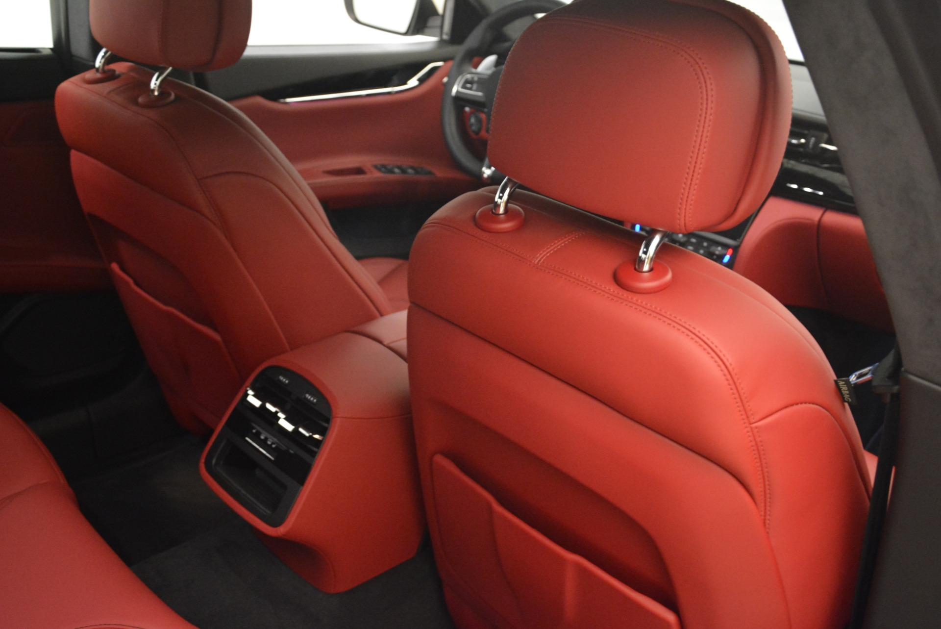 New 2018 Maserati Quattroporte S Q4 GranLusso For Sale In Westport, CT 2085_p30