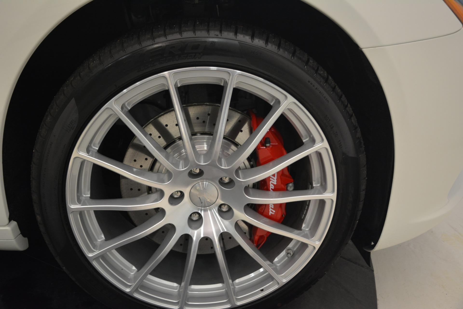 New 2018 Maserati Quattroporte S Q4 GranLusso For Sale In Westport, CT 2085_p31