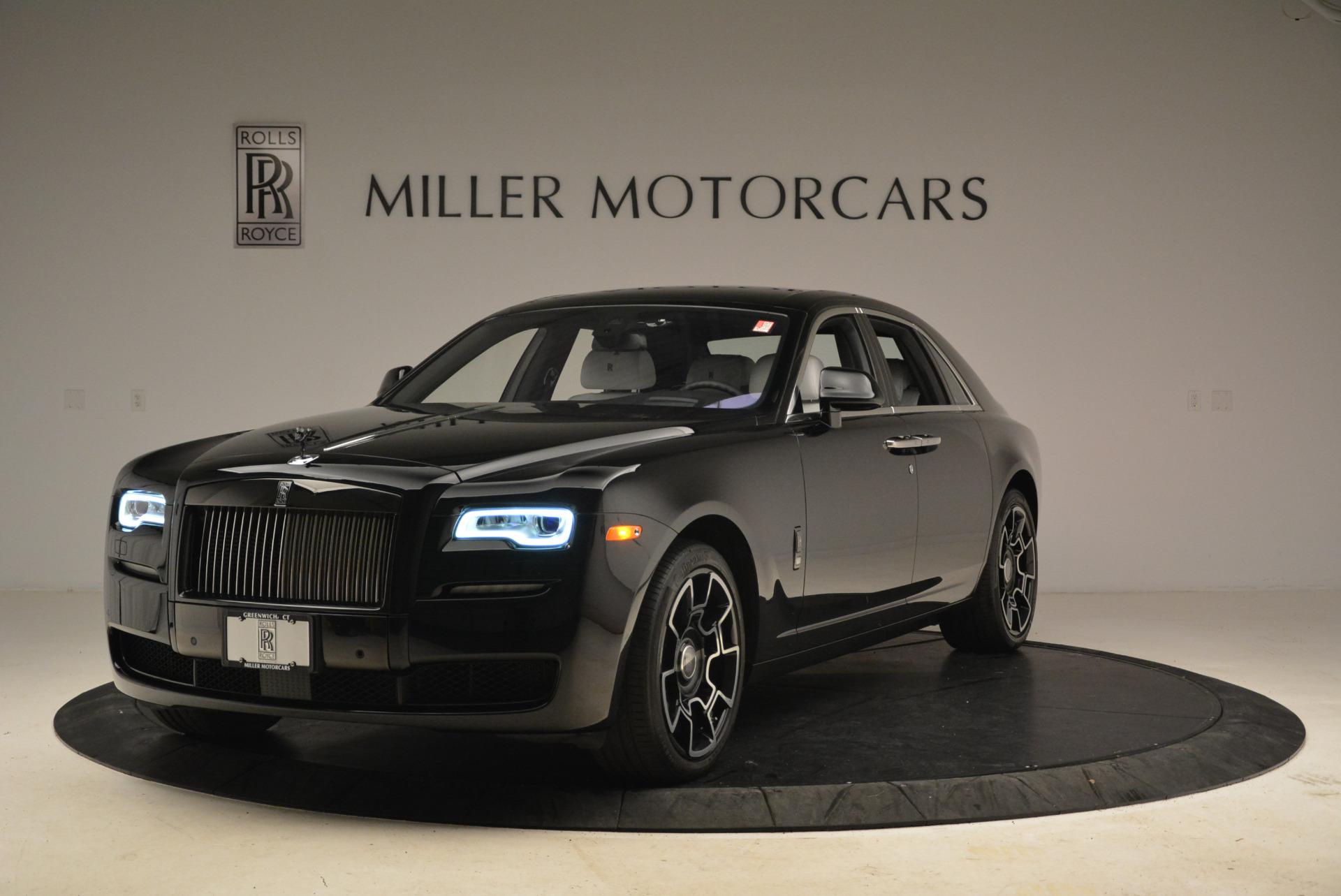 Used 2017 Rolls-Royce Ghost Black Badge For Sale In Westport, CT 2093_main