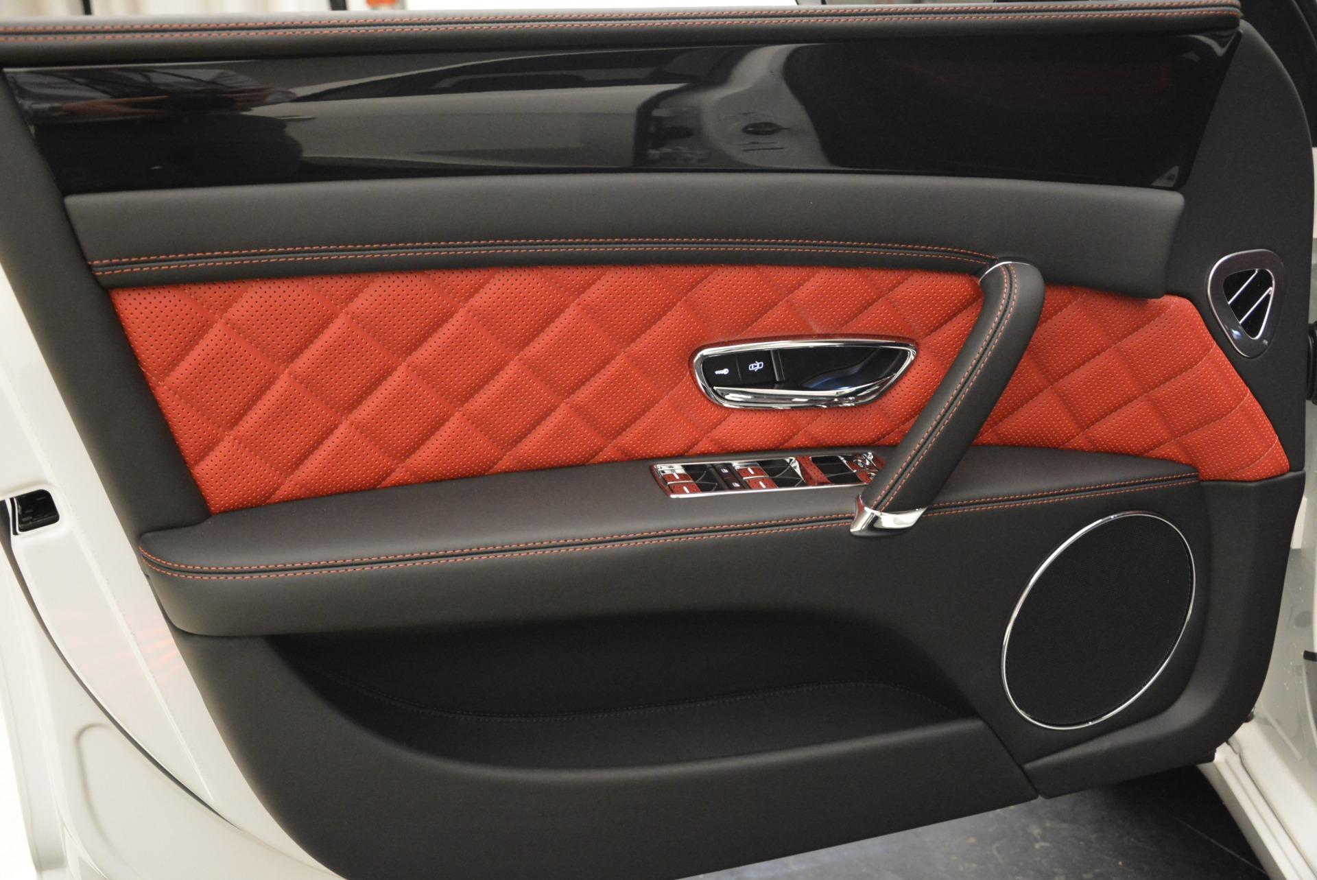 New 2018 Bentley Flying Spur V8 S Black Edition For Sale In Westport, CT 2096_p17