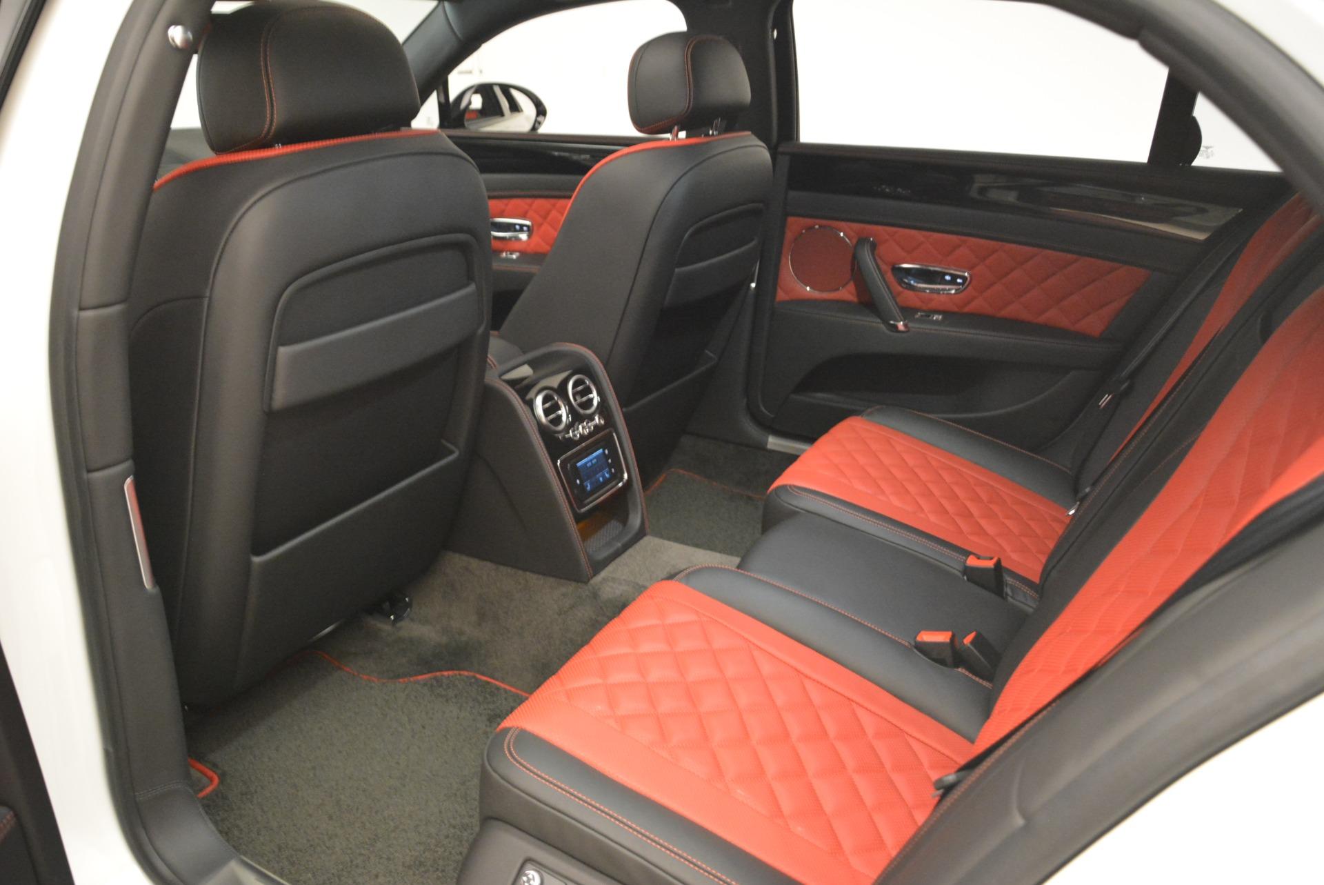 New 2018 Bentley Flying Spur V8 S Black Edition For Sale In Westport, CT 2096_p22