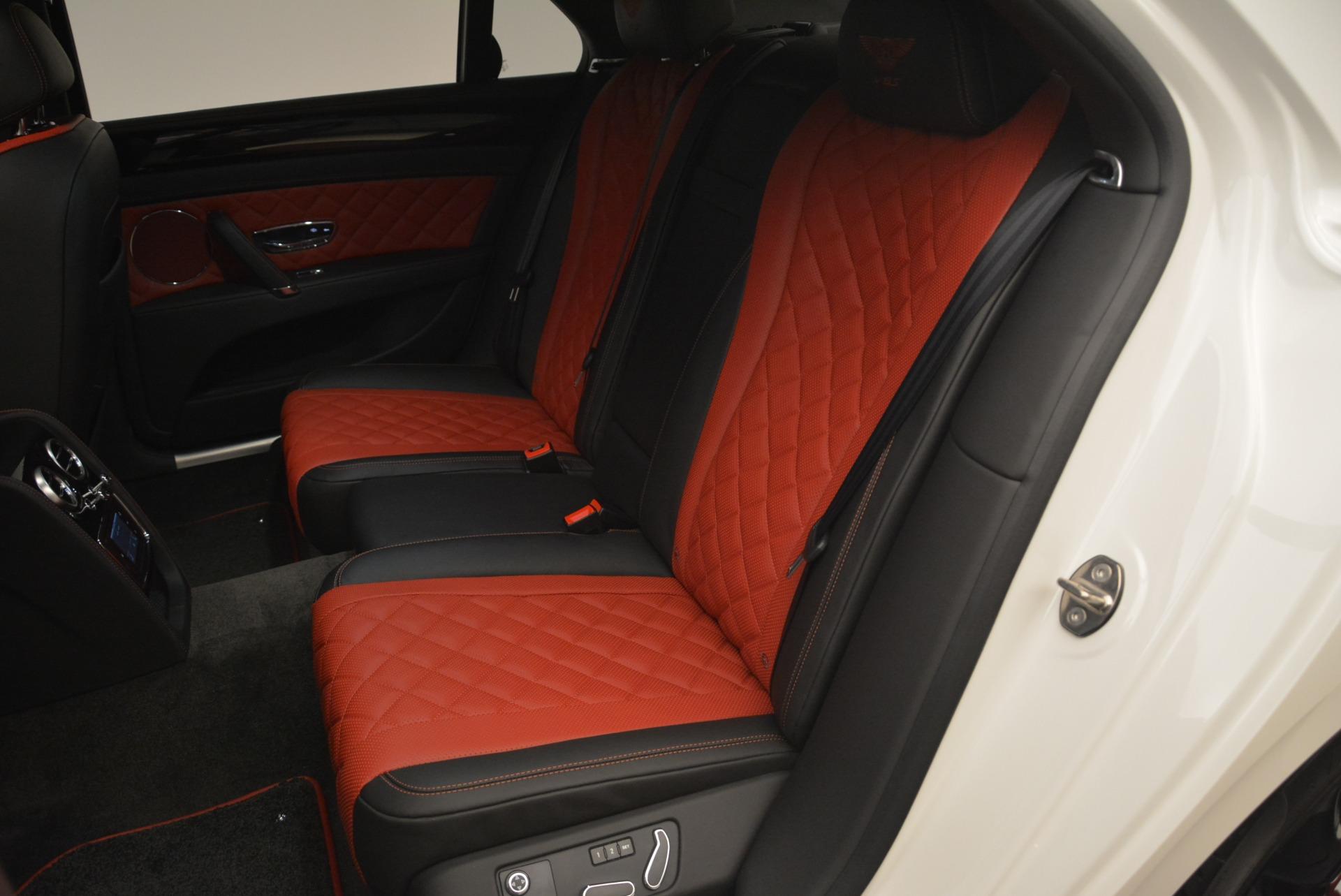 New 2018 Bentley Flying Spur V8 S Black Edition For Sale In Westport, CT 2096_p23