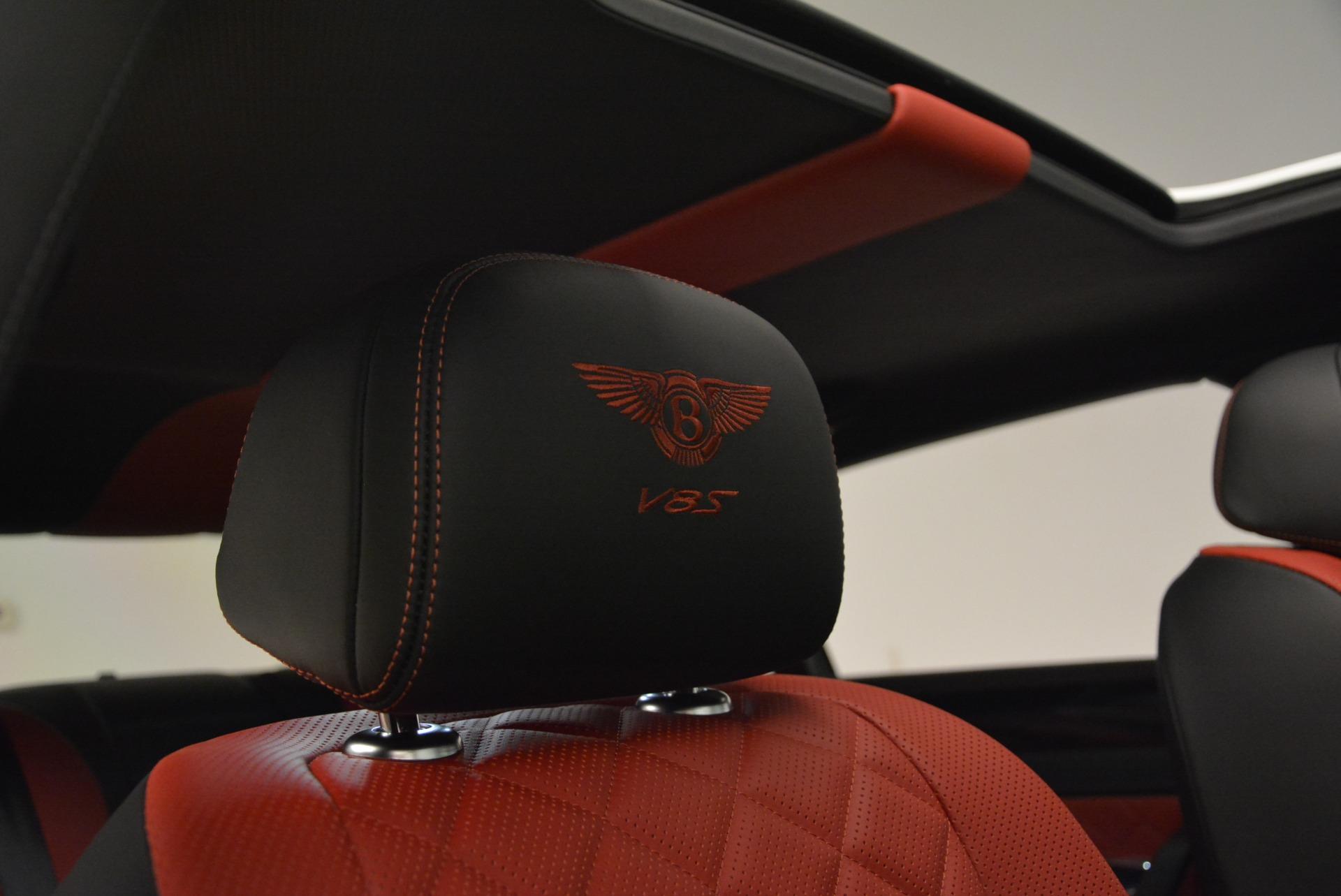 New 2018 Bentley Flying Spur V8 S Black Edition For Sale In Westport, CT 2096_p26