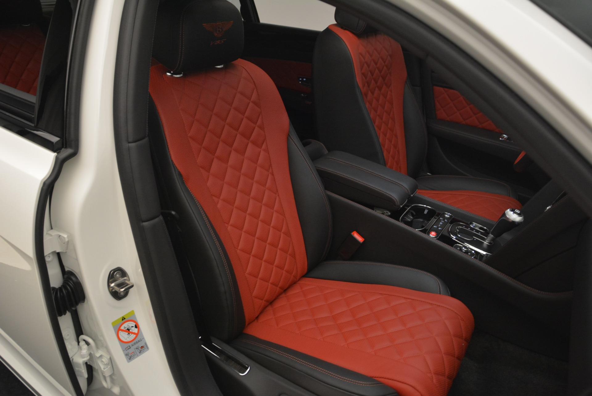 New 2018 Bentley Flying Spur V8 S Black Edition For Sale In Westport, CT 2096_p28