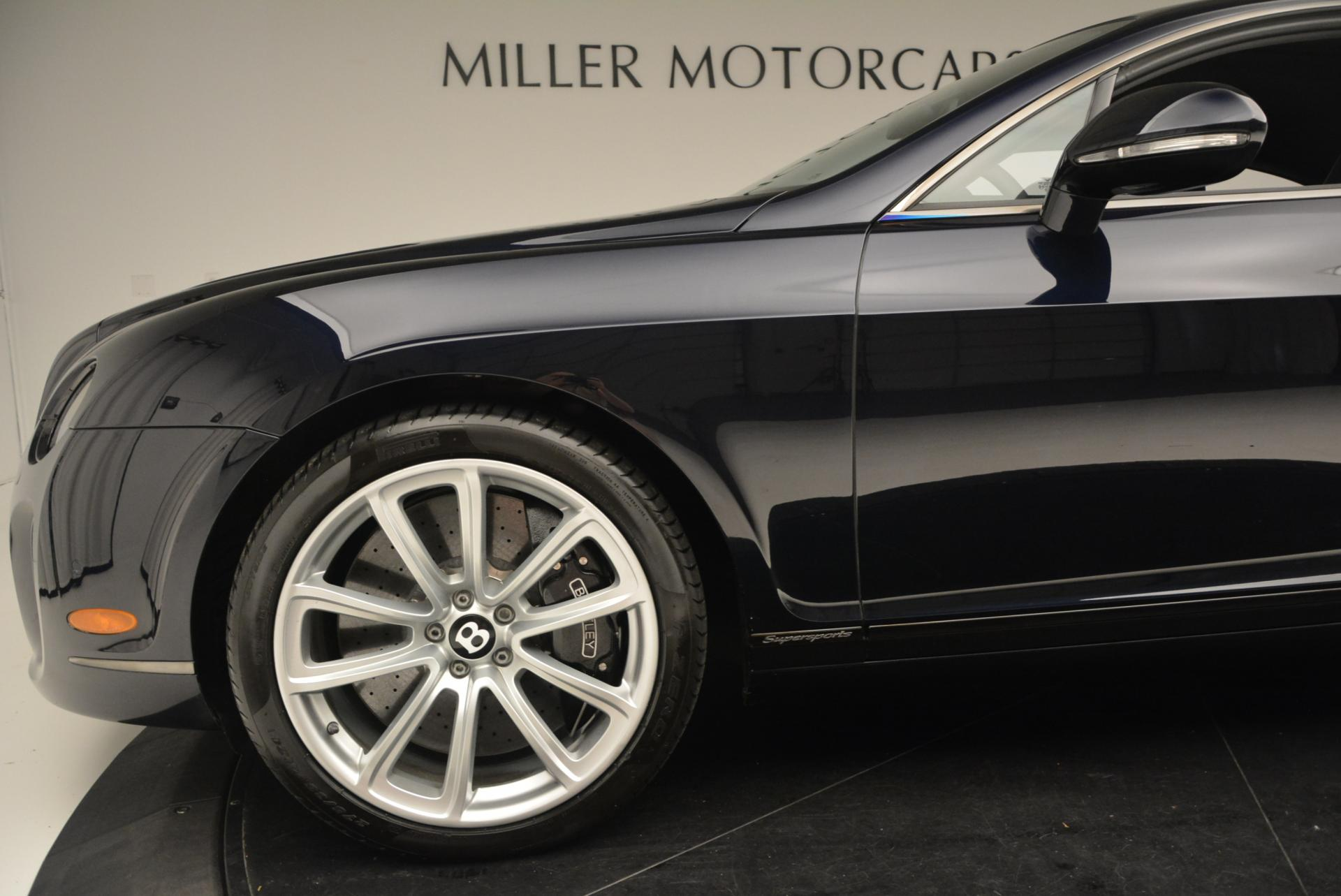 Used 2010 Bentley Continental Supersports  For Sale In Westport, CT 21_p18