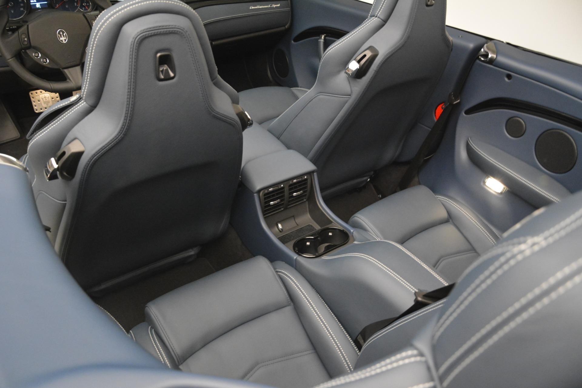 New 2018 Maserati GranTurismo Sport Convertible For Sale In Westport, CT 2106_p29