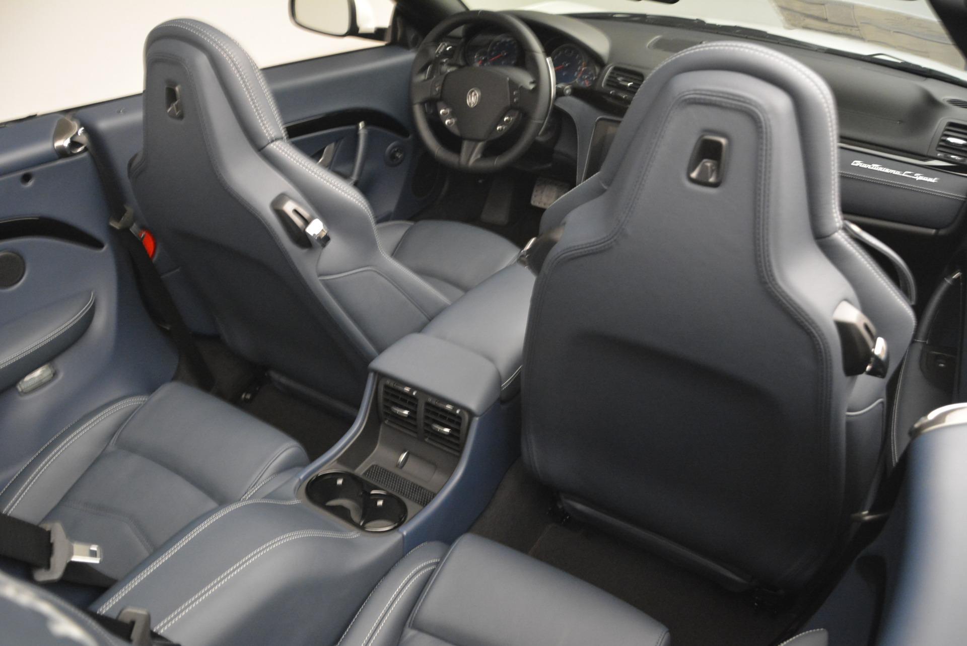 New 2018 Maserati GranTurismo Sport Convertible For Sale In Westport, CT 2106_p35