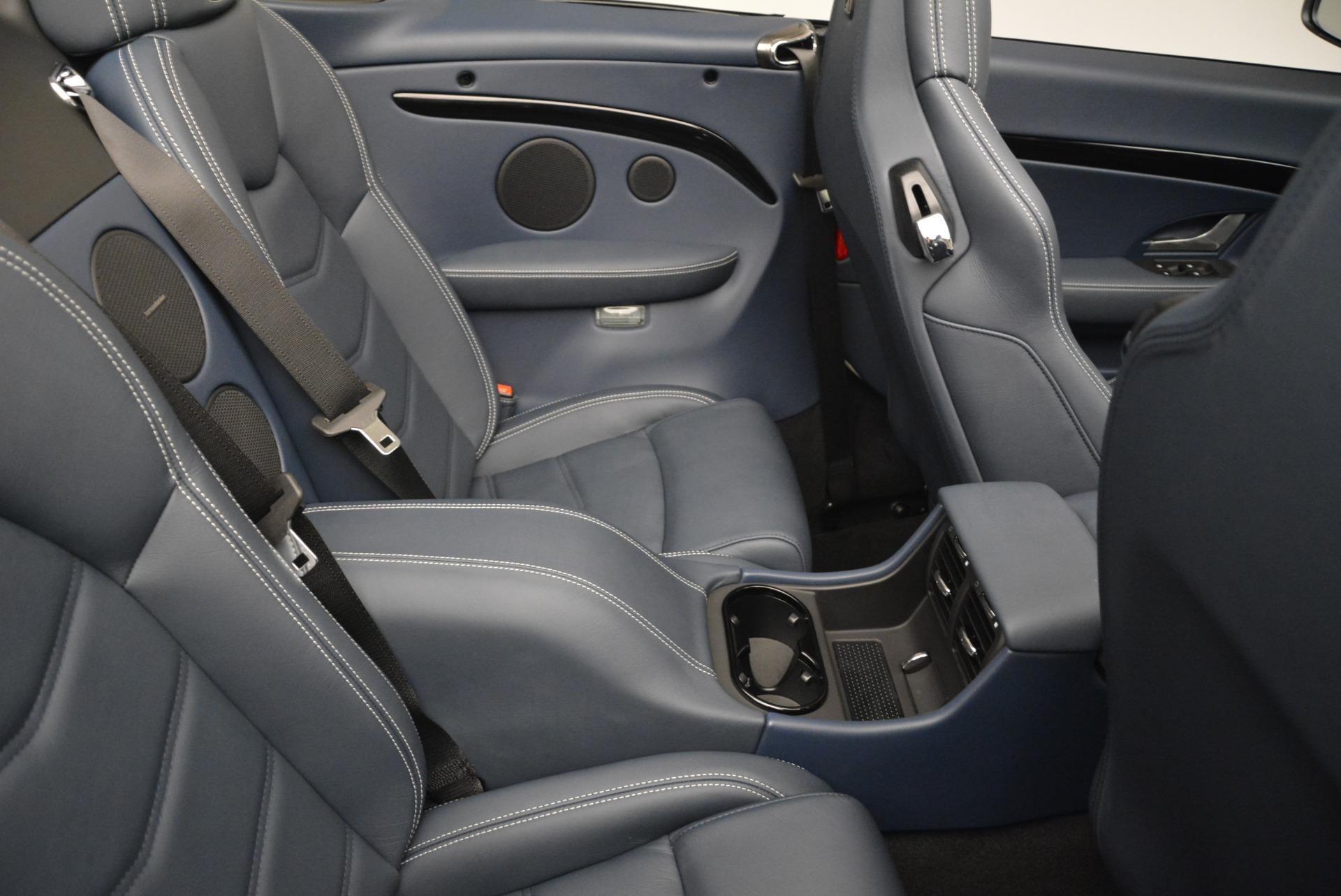 New 2018 Maserati GranTurismo Sport Convertible For Sale In Westport, CT 2120_p22