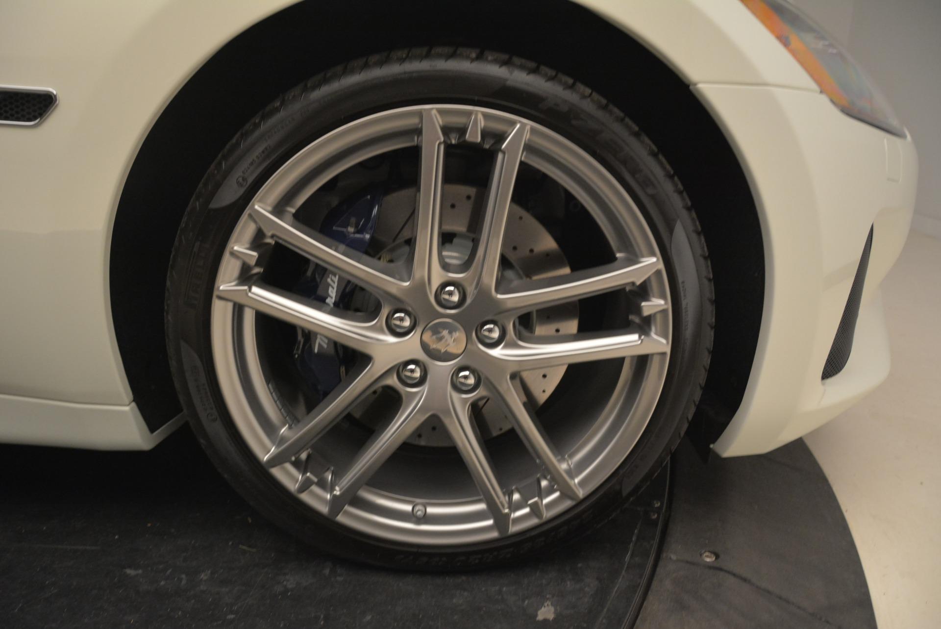 New 2018 Maserati GranTurismo Sport Convertible For Sale In Westport, CT 2120_p24