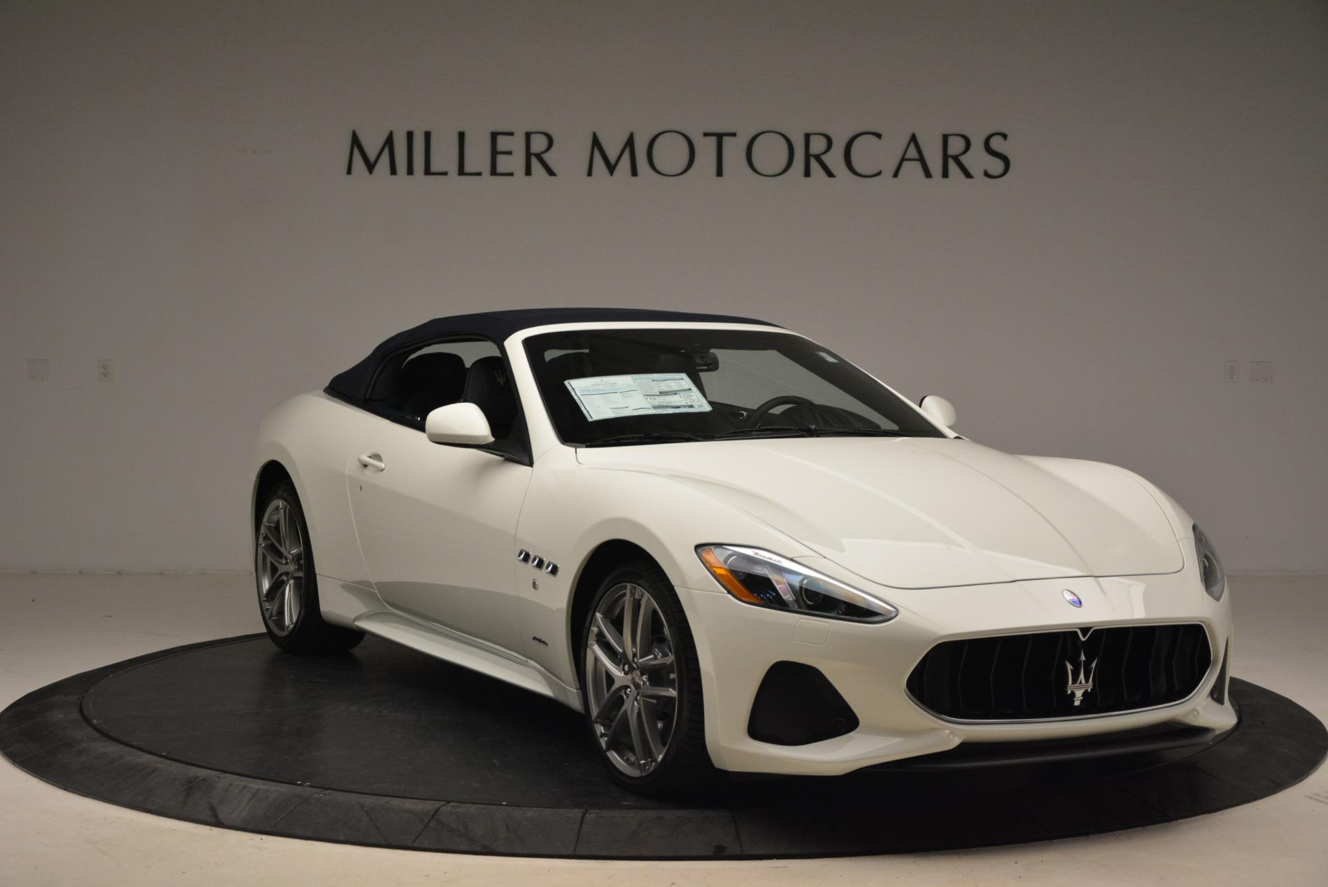 New 2018 Maserati GranTurismo Sport Convertible For Sale In Westport, CT 2120_p9