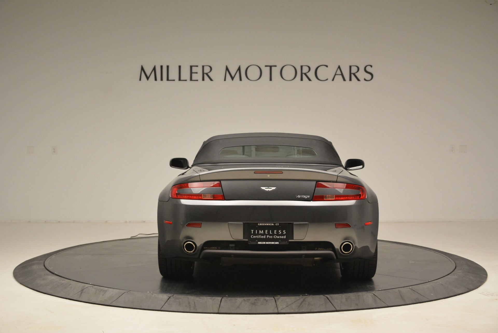 Used 2009 Aston Martin V8 Vantage Roadster For Sale In Westport, CT 2123_p18