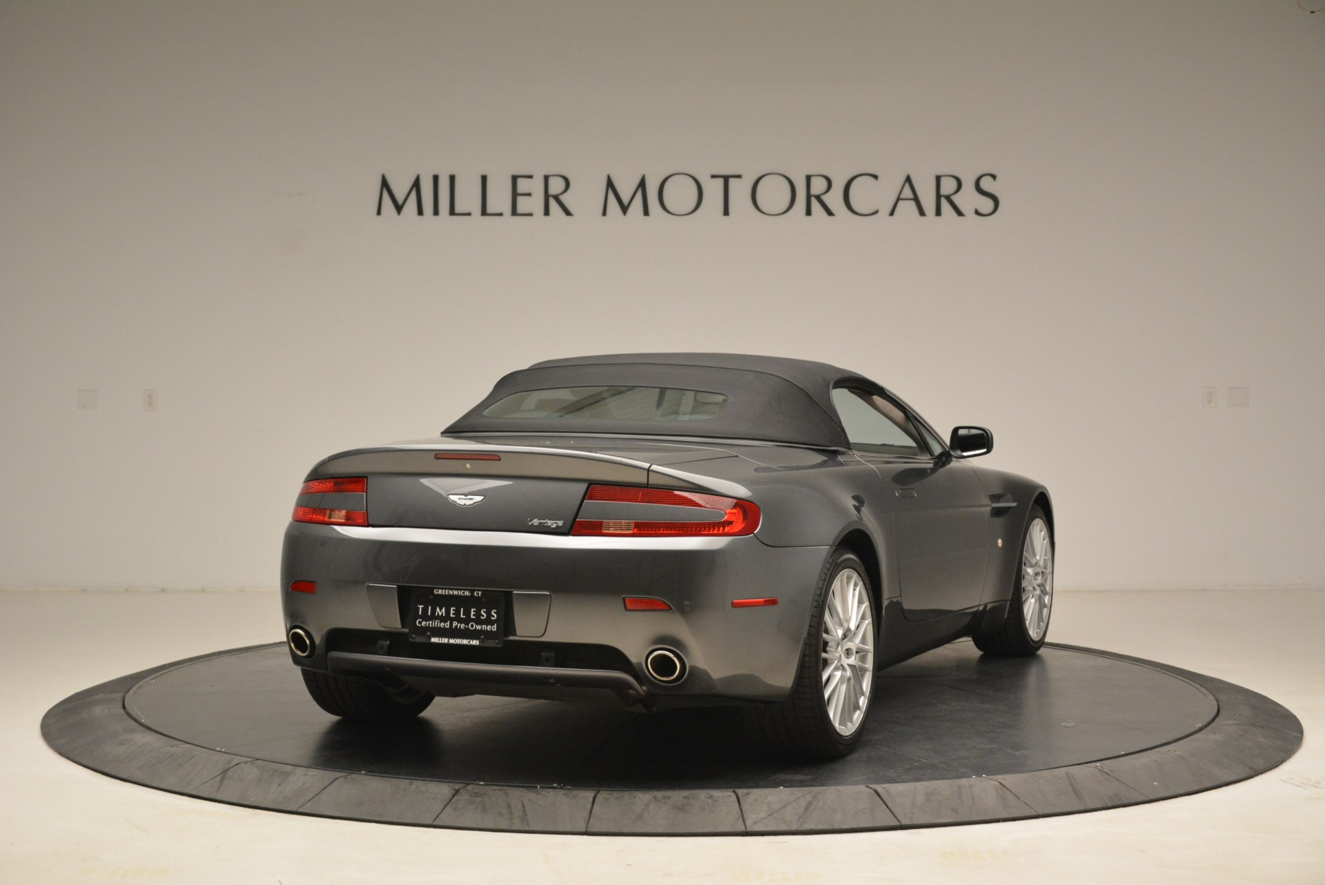Used 2009 Aston Martin V8 Vantage Roadster For Sale In Westport, CT 2123_p19