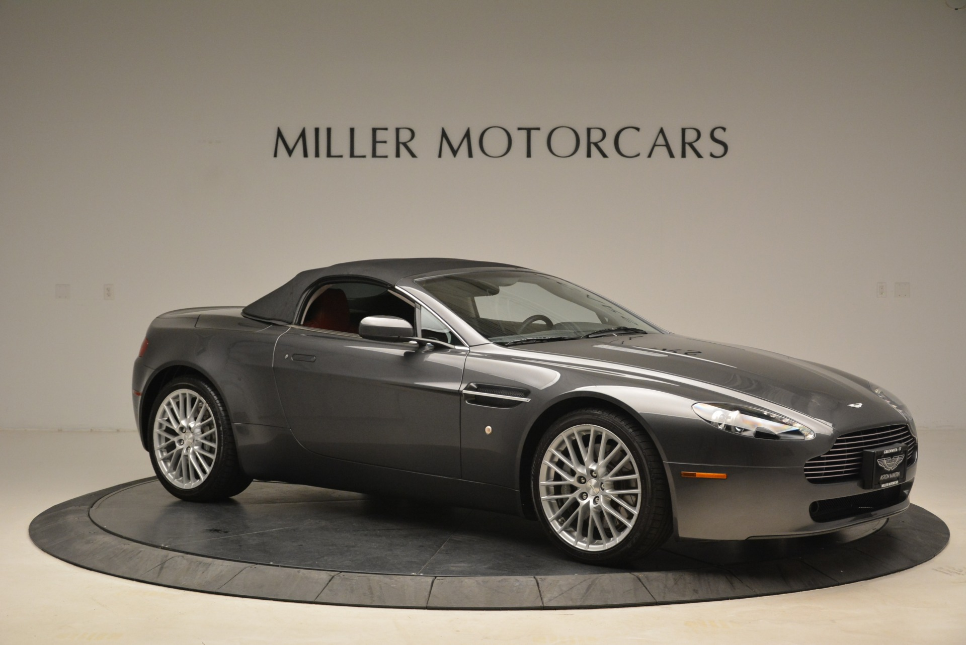 Used 2009 Aston Martin V8 Vantage Roadster For Sale In Westport, CT 2123_p22