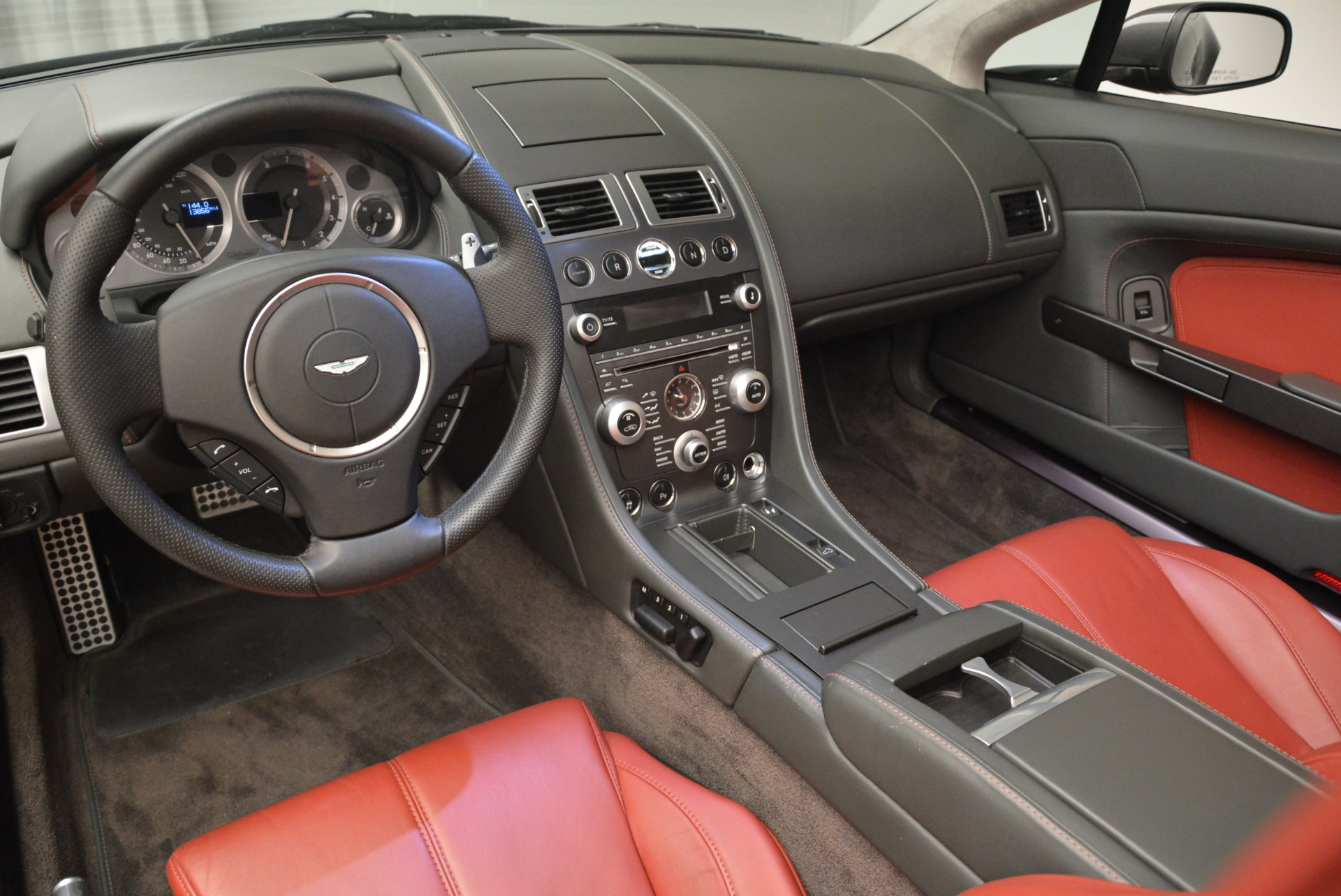 Used 2009 Aston Martin V8 Vantage Roadster For Sale In Westport, CT 2123_p26