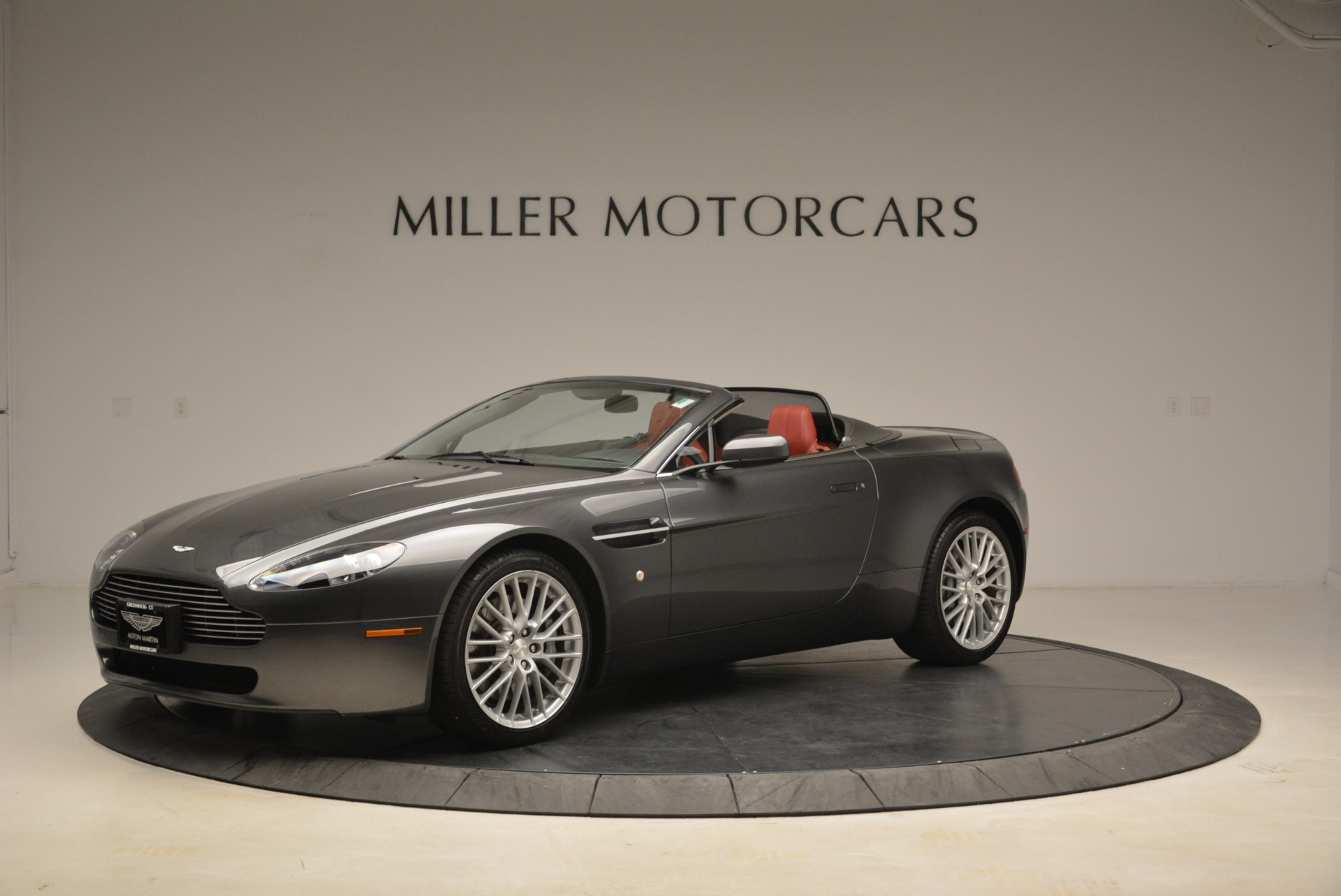 Used 2009 Aston Martin V8 Vantage Roadster For Sale In Westport, CT 2123_p2