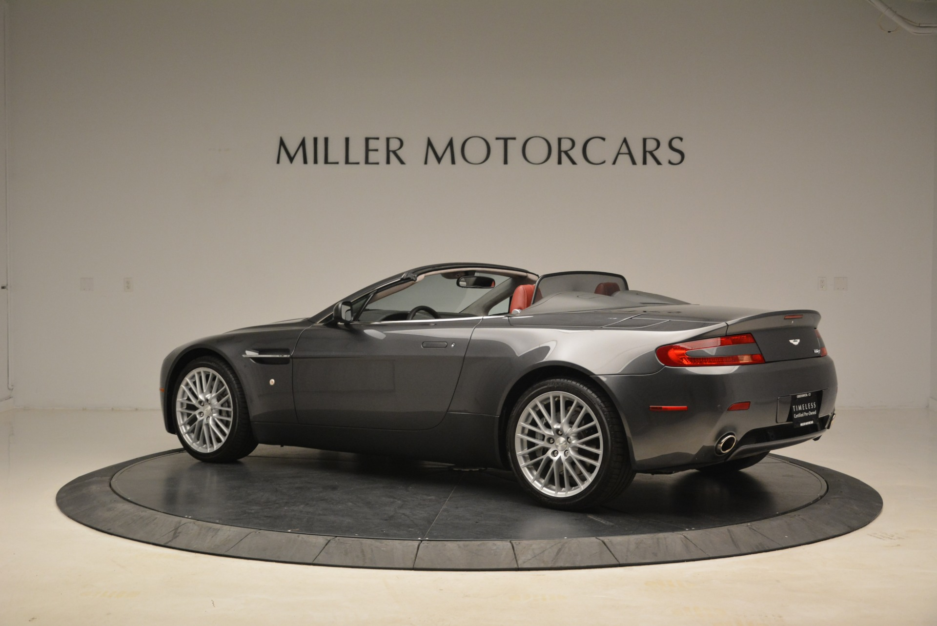 Used 2009 Aston Martin V8 Vantage Roadster For Sale In Westport, CT 2123_p4