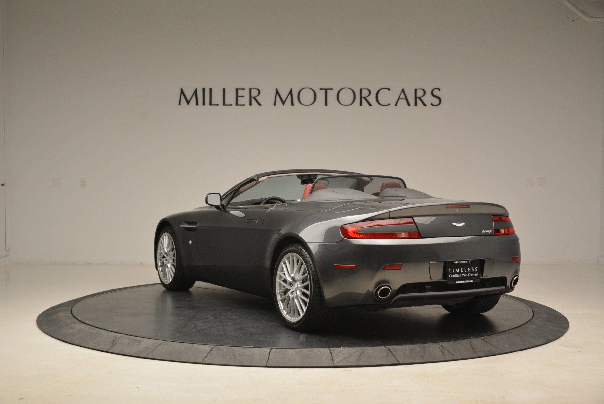 Used 2009 Aston Martin V8 Vantage Roadster For Sale In Westport, CT 2123_p5