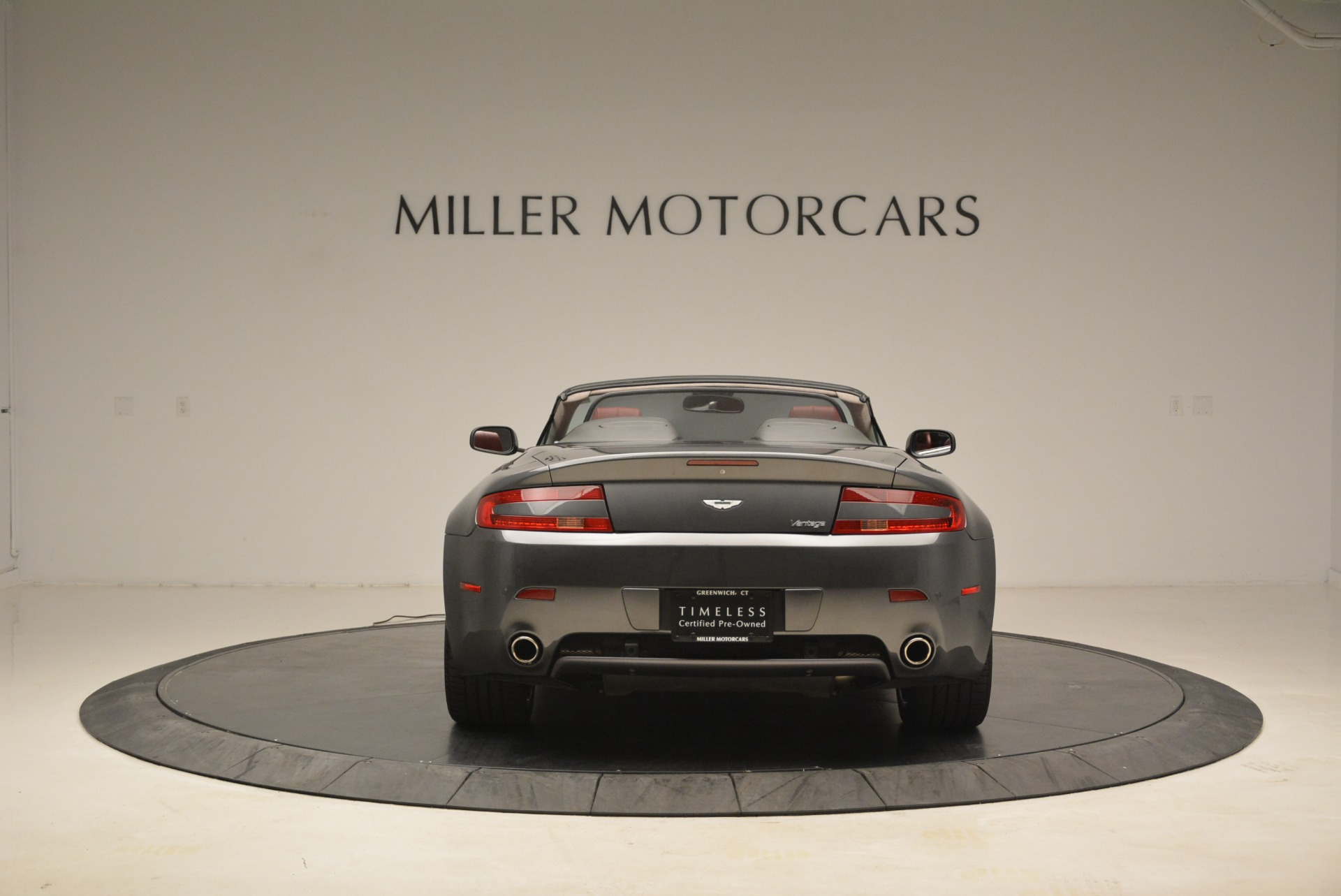 Used 2009 Aston Martin V8 Vantage Roadster For Sale In Westport, CT 2123_p6