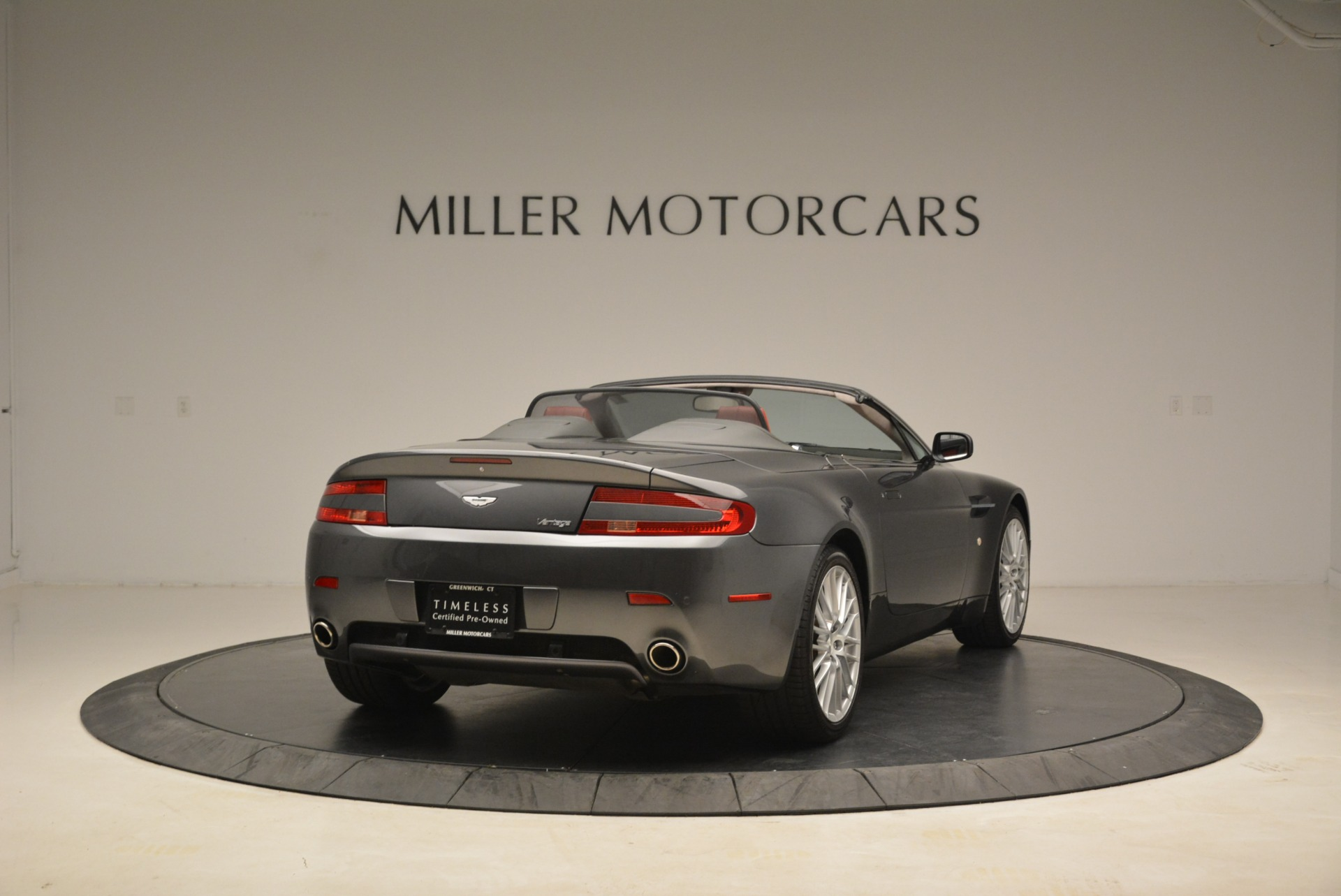 Used 2009 Aston Martin V8 Vantage Roadster For Sale In Westport, CT 2123_p7
