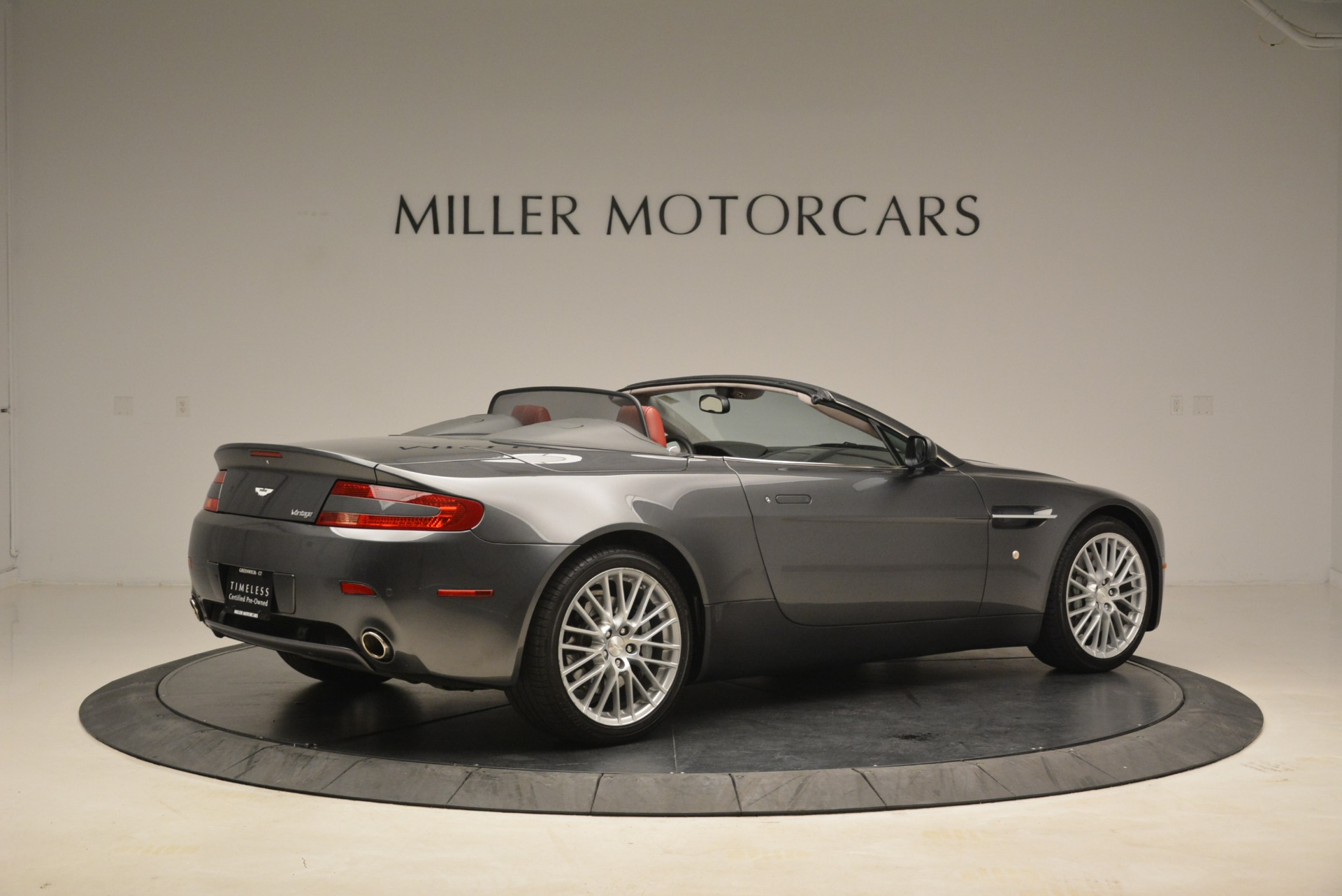 Used 2009 Aston Martin V8 Vantage Roadster For Sale In Westport, CT 2123_p8