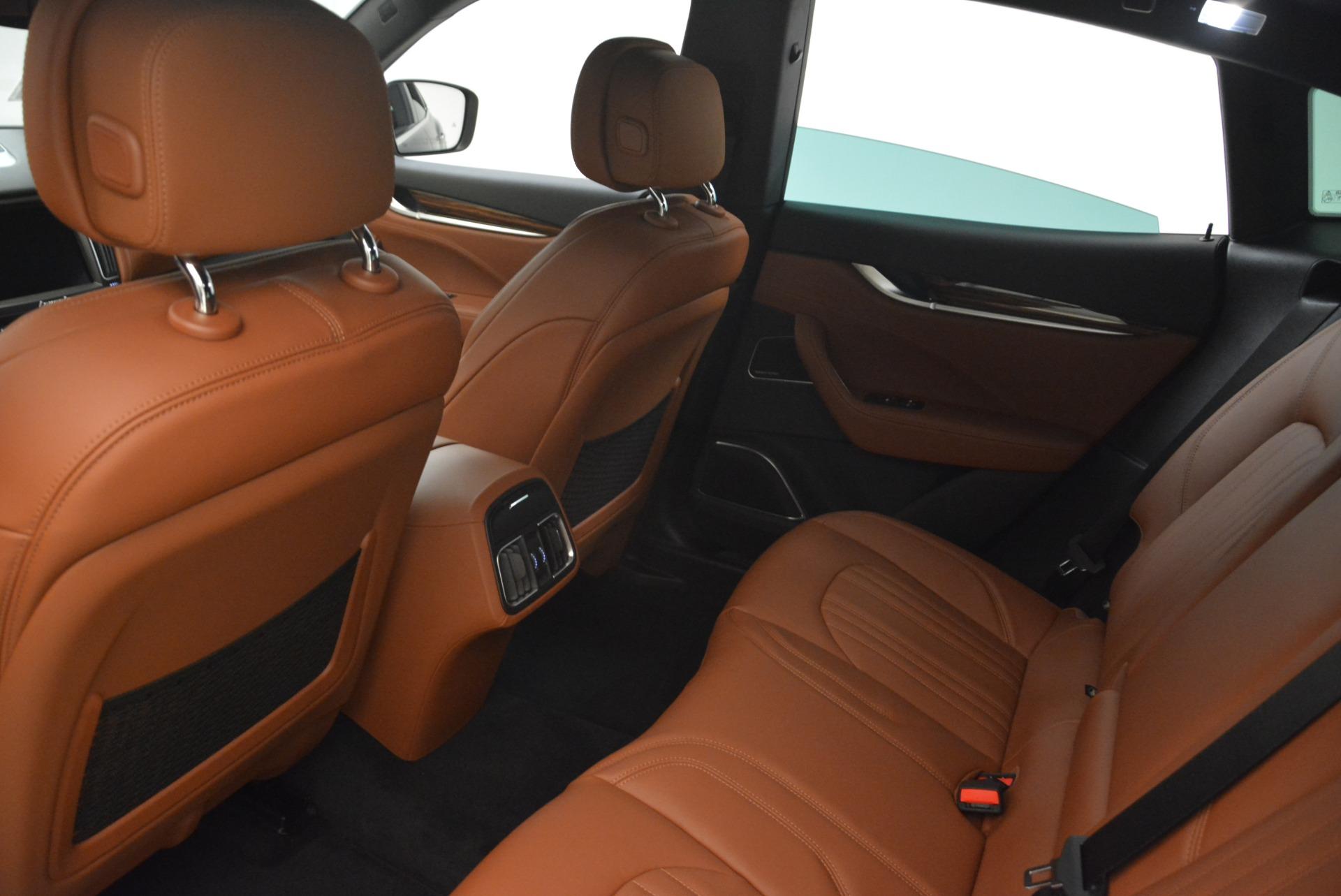 New 2018 Maserati Levante S Q4 GranLusso For Sale In Westport, CT 2124_p17