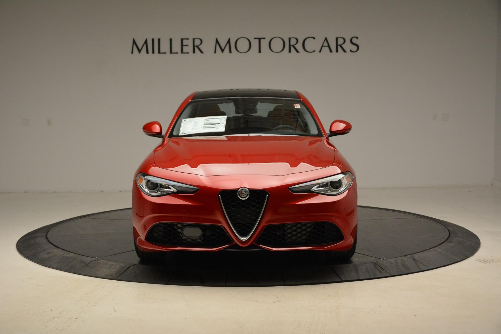 New 2018 Alfa Romeo Giulia Ti Sport Q4 For Sale In Westport, CT 2126_p12