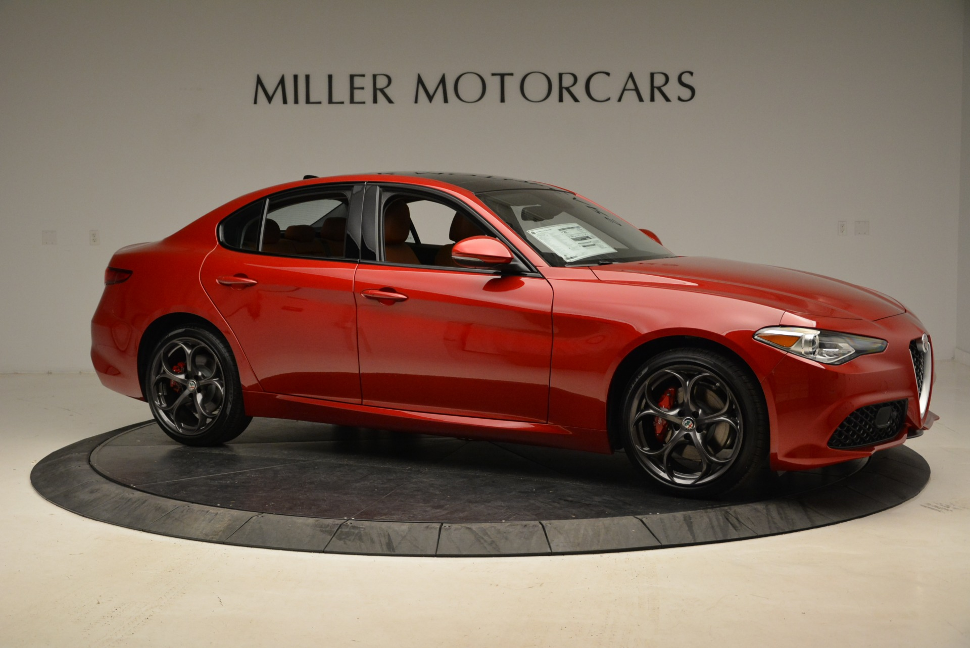 New 2018 Alfa Romeo Giulia Ti Sport Q4 For Sale In Westport, CT 2127_p10