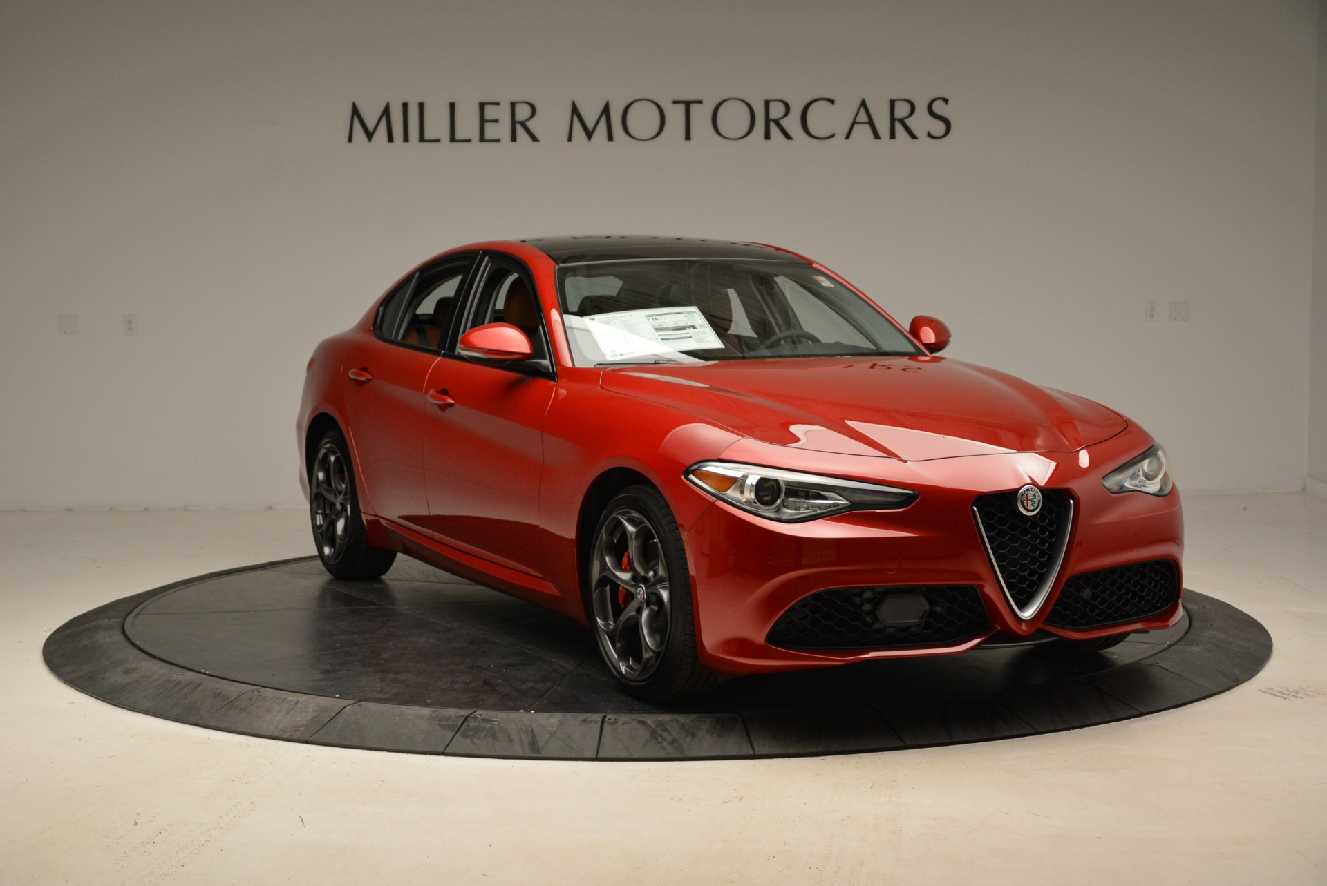 New 2018 Alfa Romeo Giulia Ti Sport Q4 For Sale In Westport, CT 2127_p11